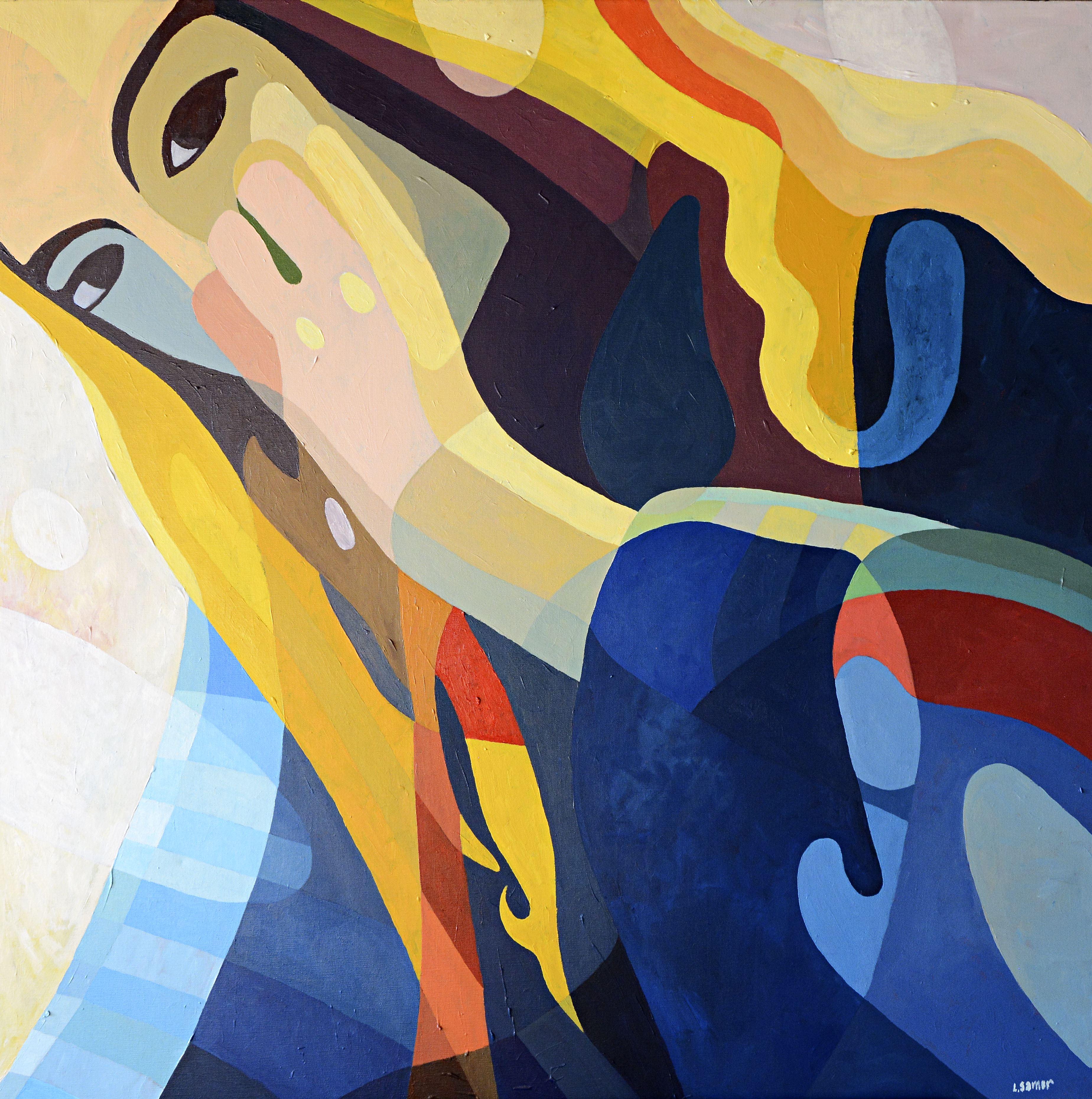 Lennart Samor visar måleri och grafik hos Profilen Konst & Ram