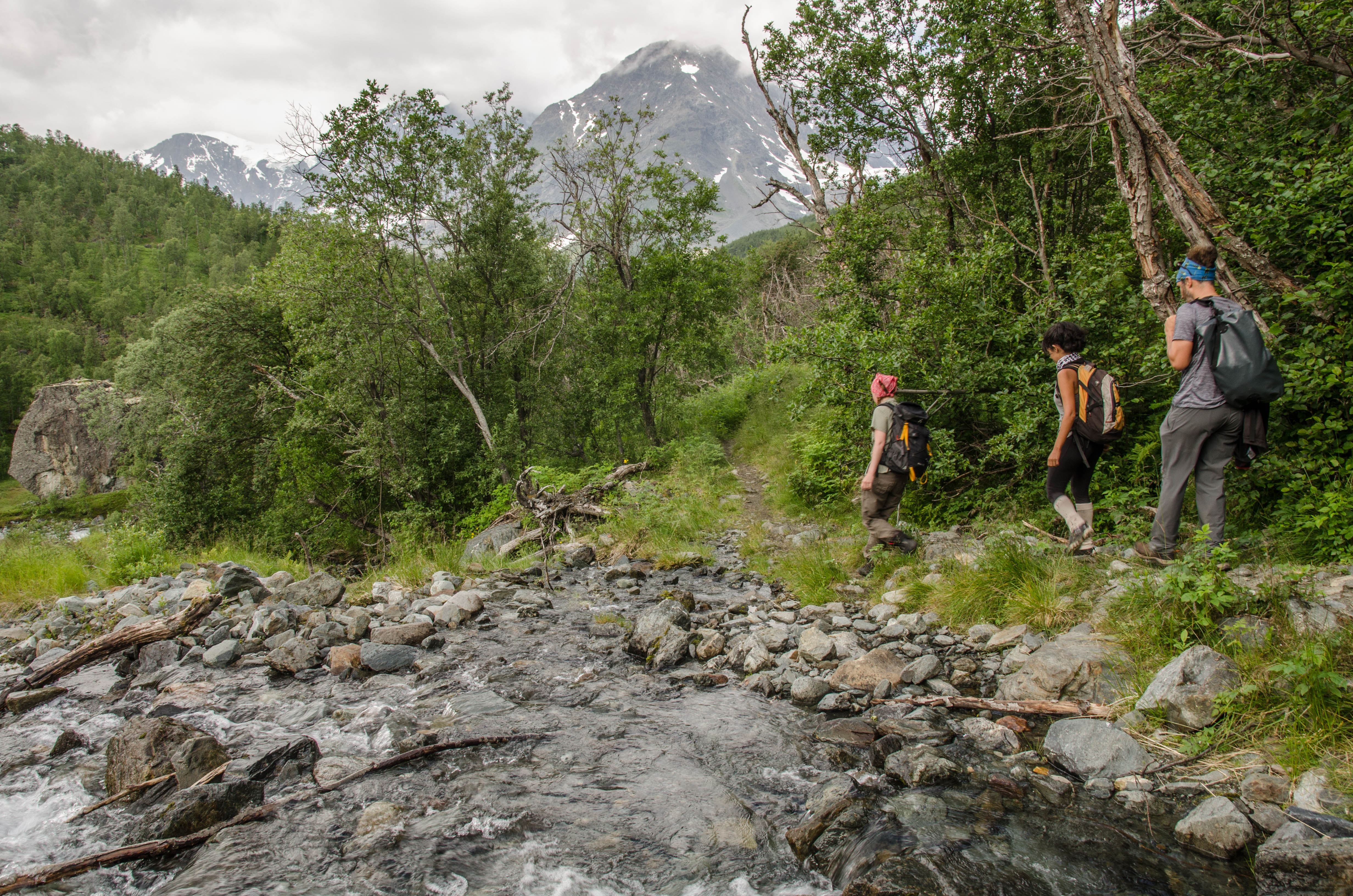 Guided hiking trip to nowhere - Adventure by Design