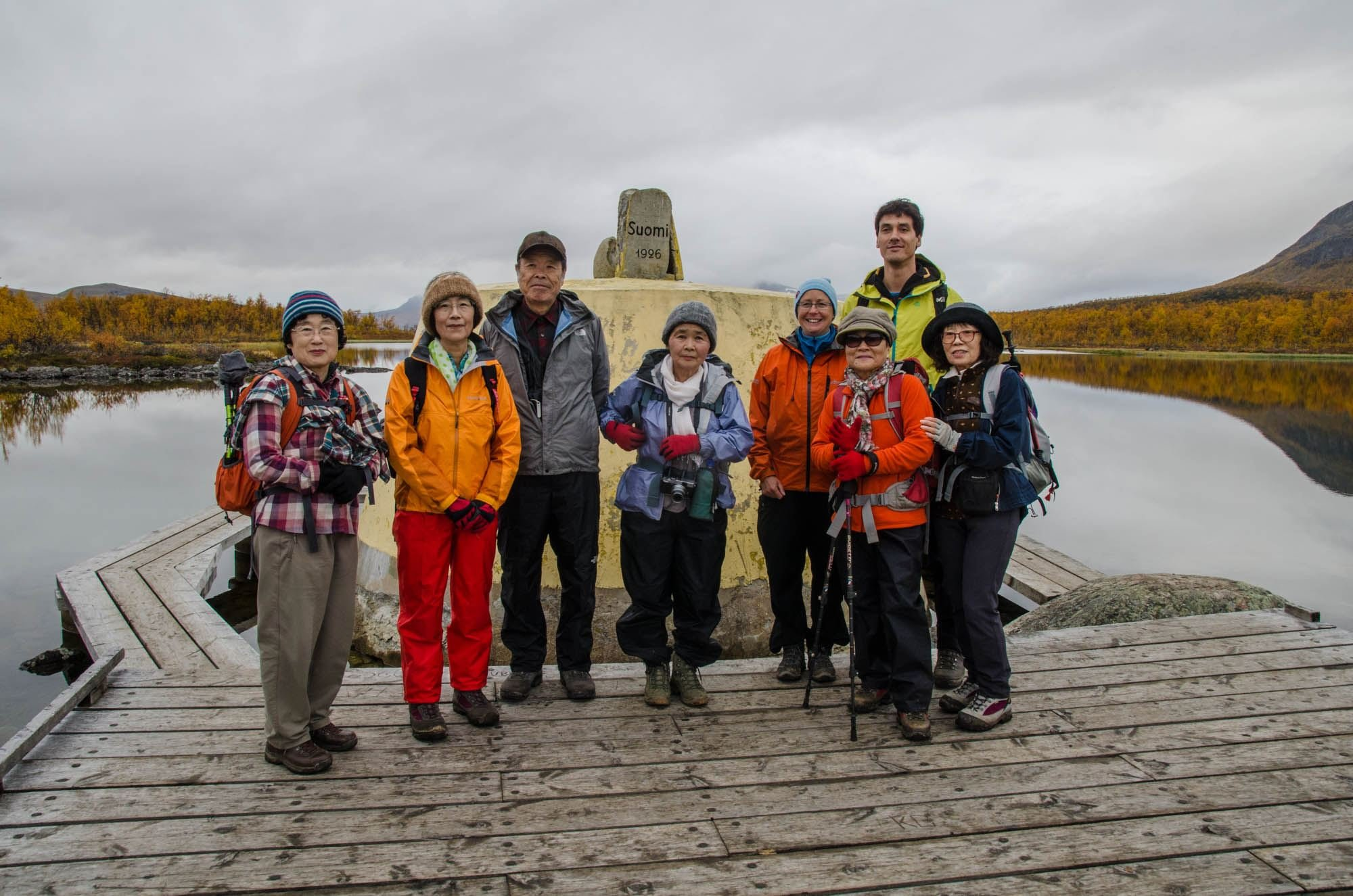 Guided hike to the three countries cairn - Adventure by Design