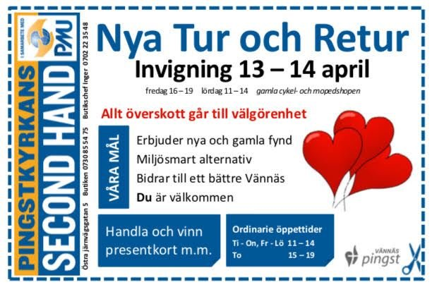 Invigning Nya Tur och Retur (secondhand)