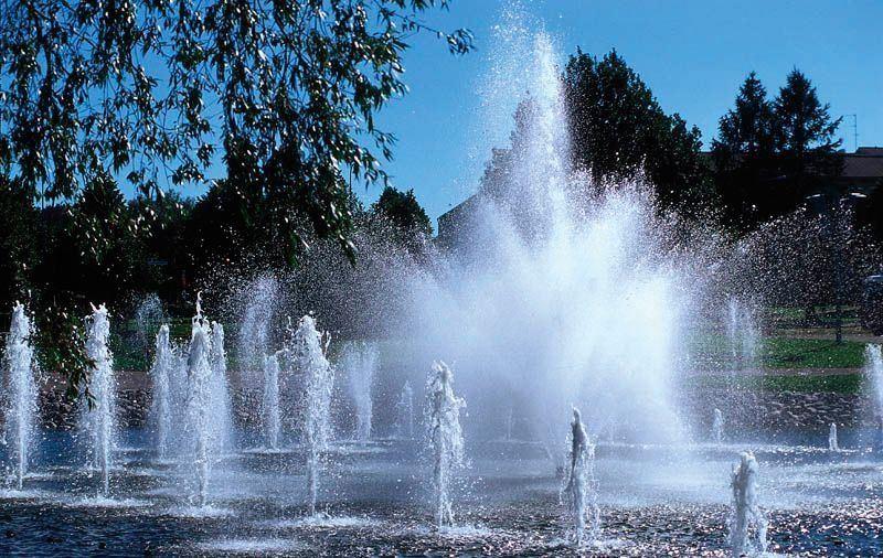 Lahti Harbour | Water Organ, the musical fountain
