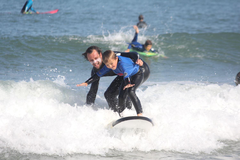 John and Tim Surf School