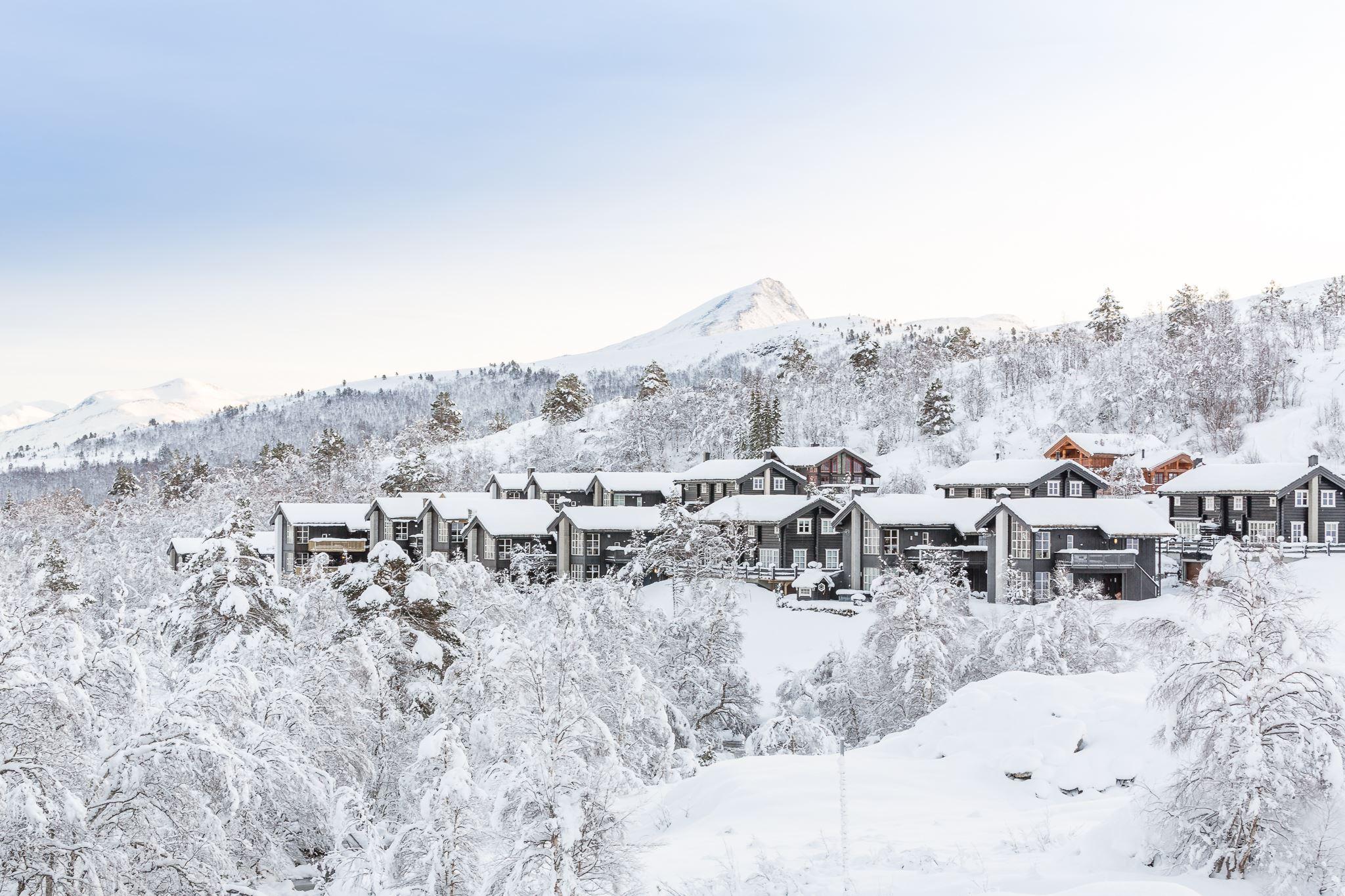 Hytter, leiligheter og camping