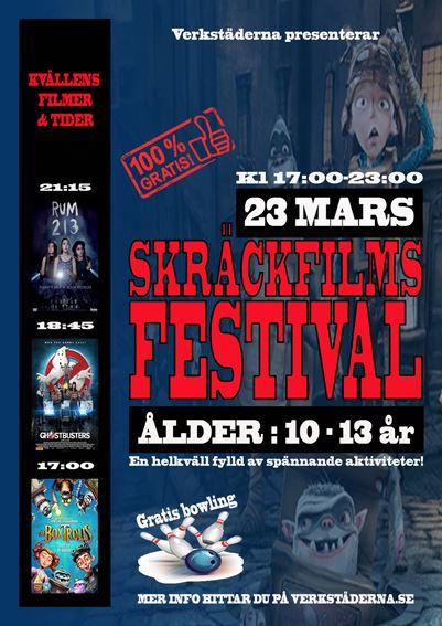 Skräckfilmsfestival på Verkstäderna