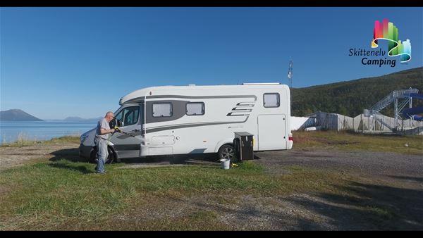 Skittenelv Camping