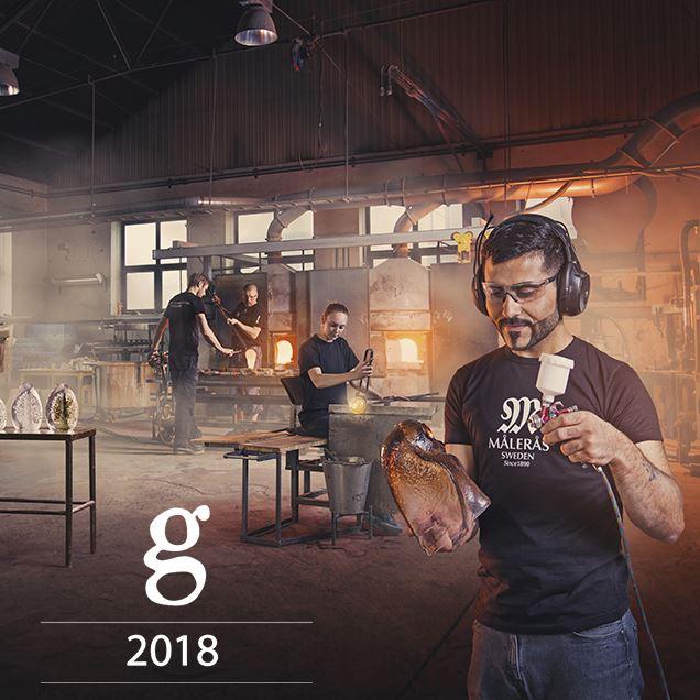 GLASKONST 2018 PÅ MÅLERÅS GLASBRUK