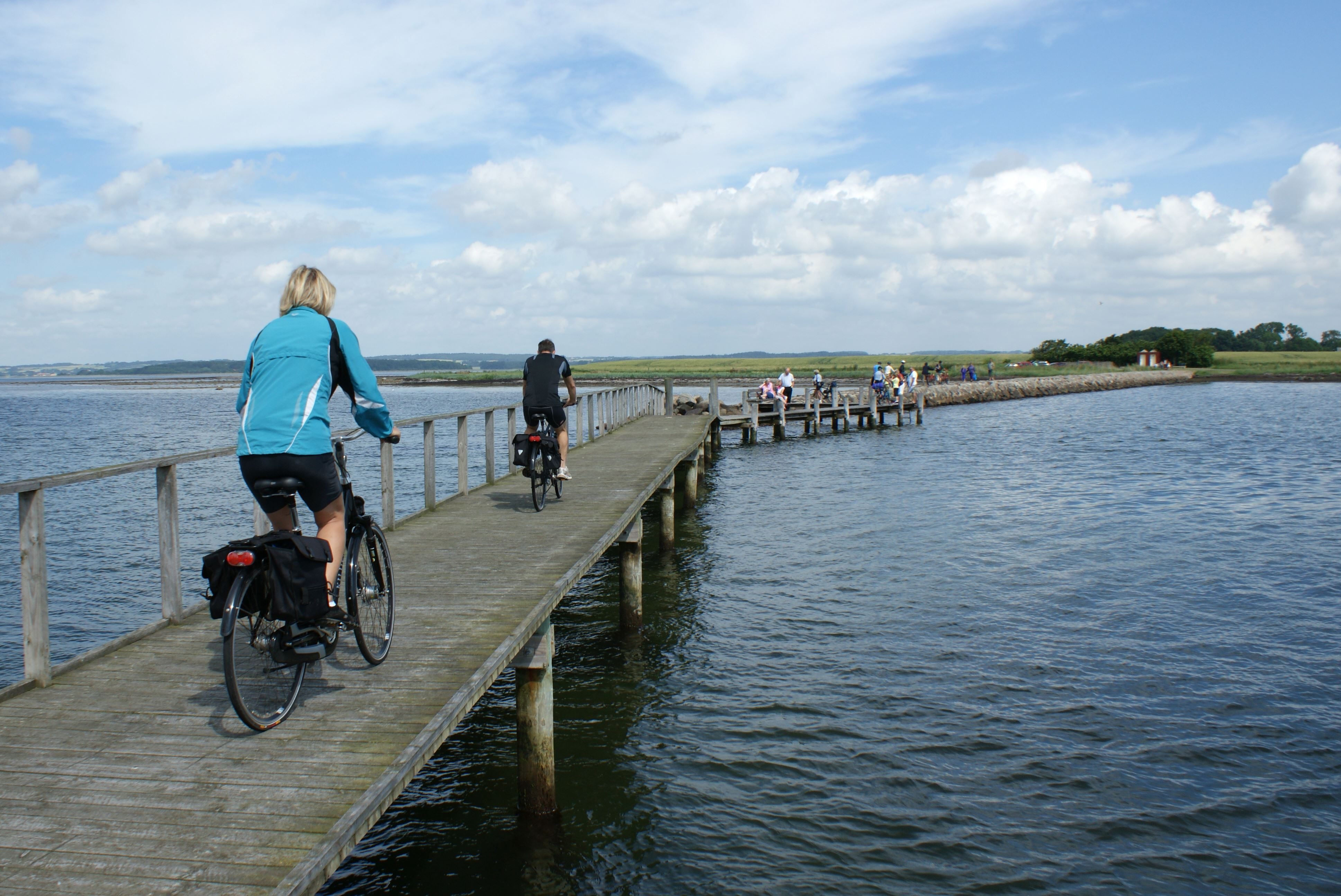Cykelfærgen Snaptun– Hjarnø - Alrø Enkeltbillet