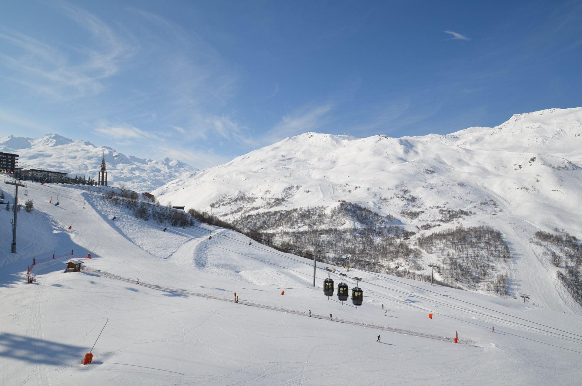 3 Pers Studio ski-in ski-out / CARON 910