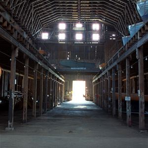 Guided tour - The Old Navy Shipyard incl. boat trip