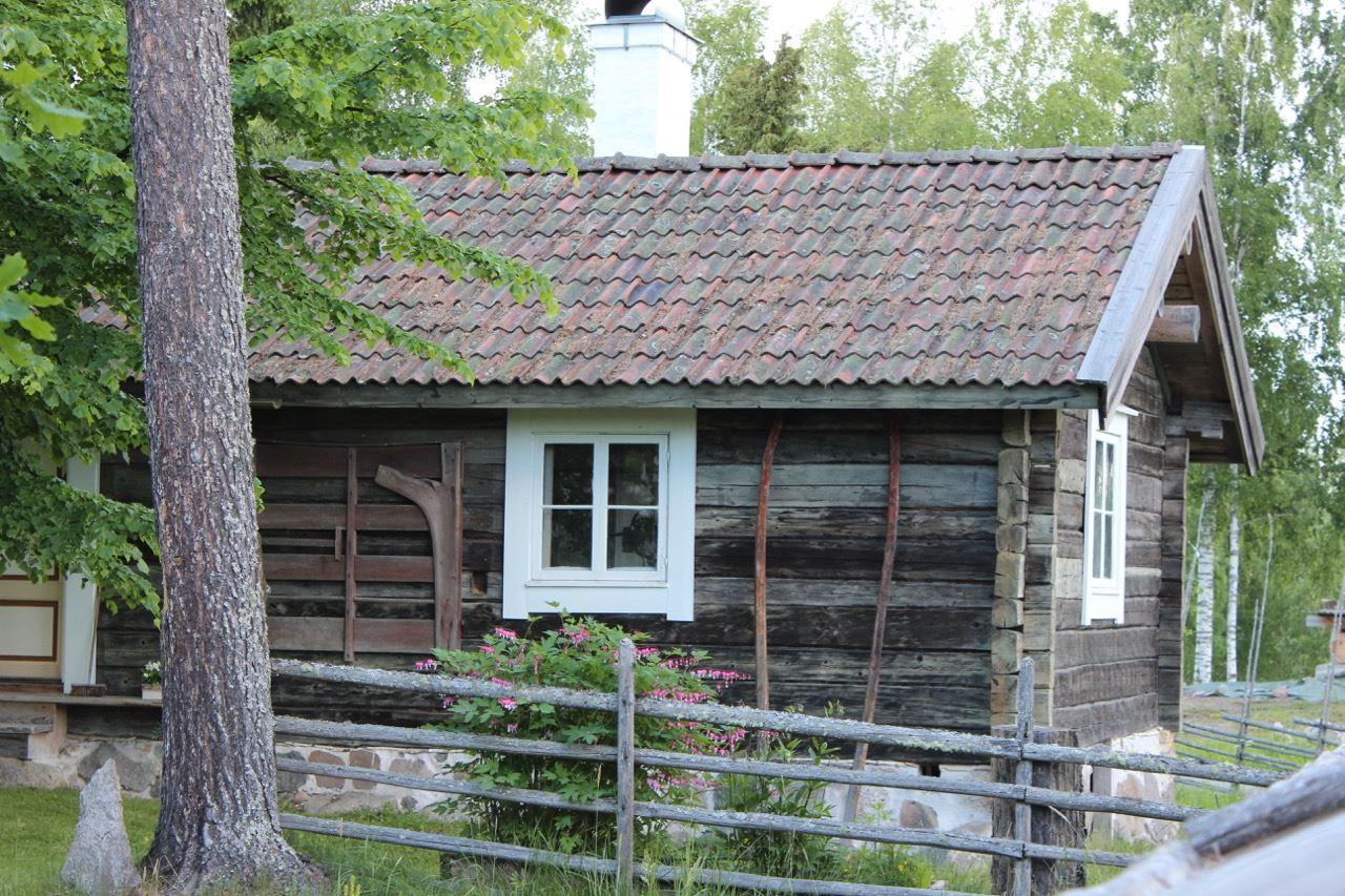 Bagarstuga i 1700-talsstil på Oklagård