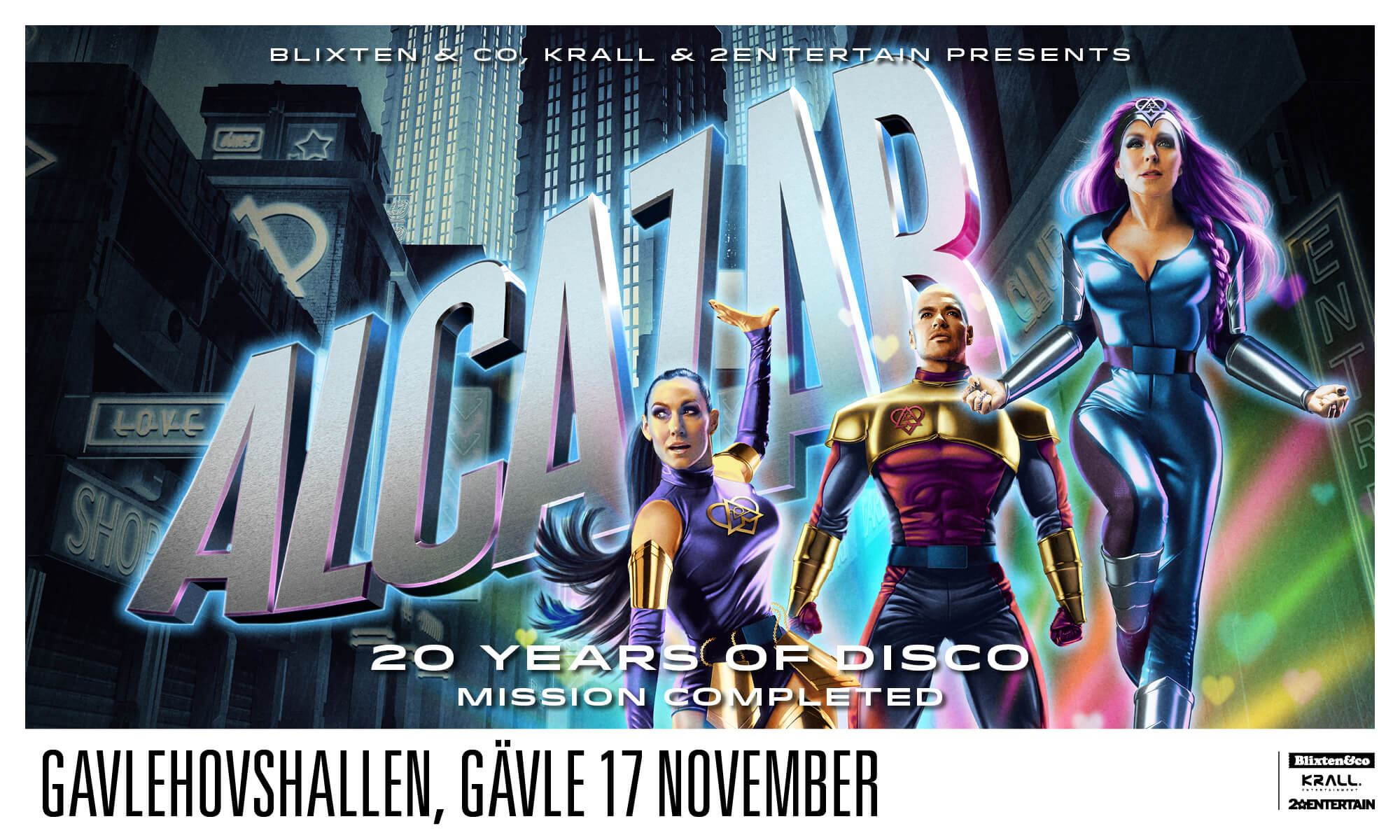 """ALCAZAR """"20 years of disco - Mission completed"""""""