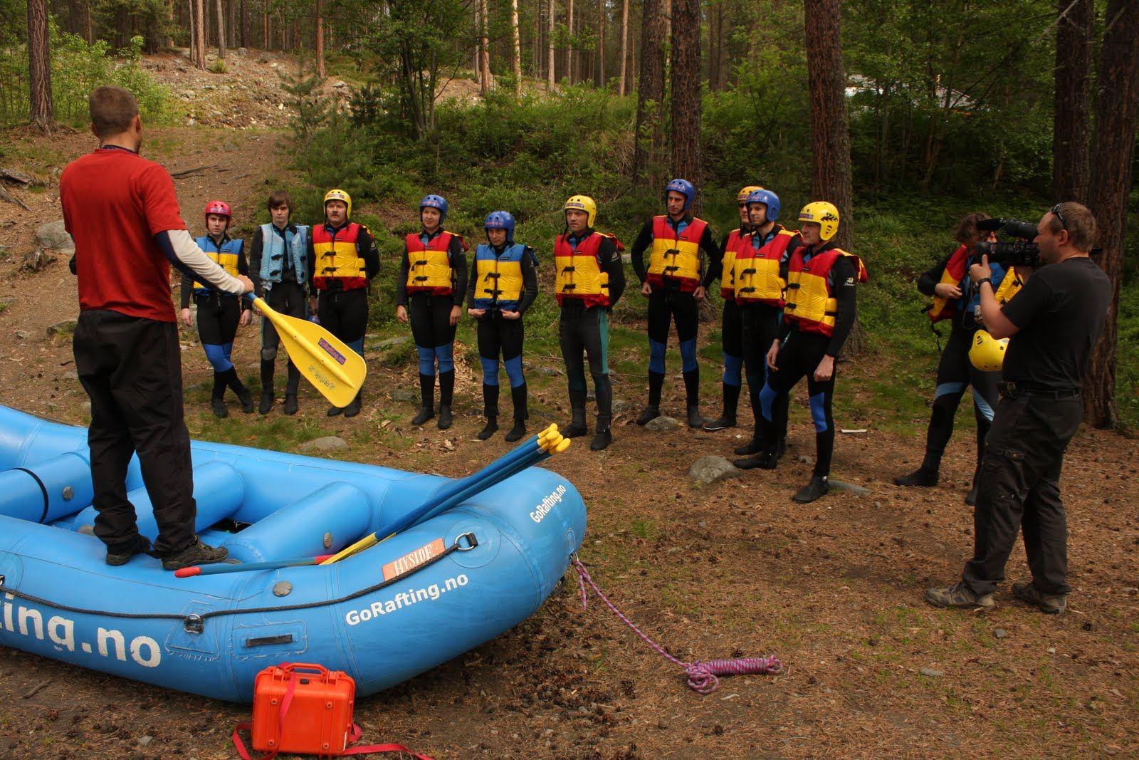 Rafting i Sjoa