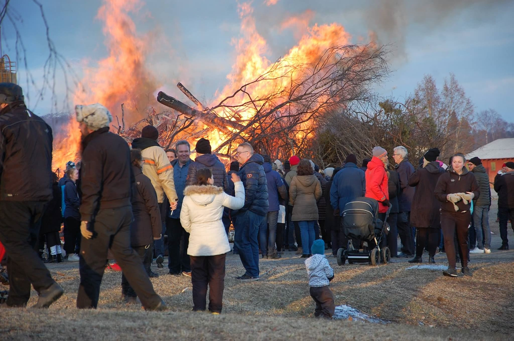 Välkommen till Festplatsens Valborgsfirande