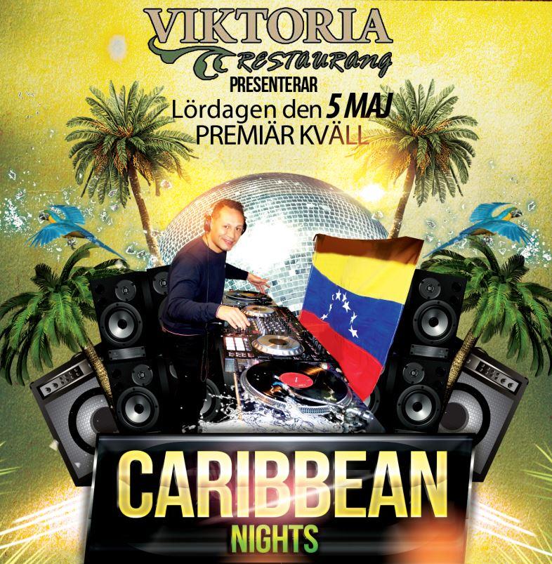 Caribbean Nights på Restaurang Viktoria