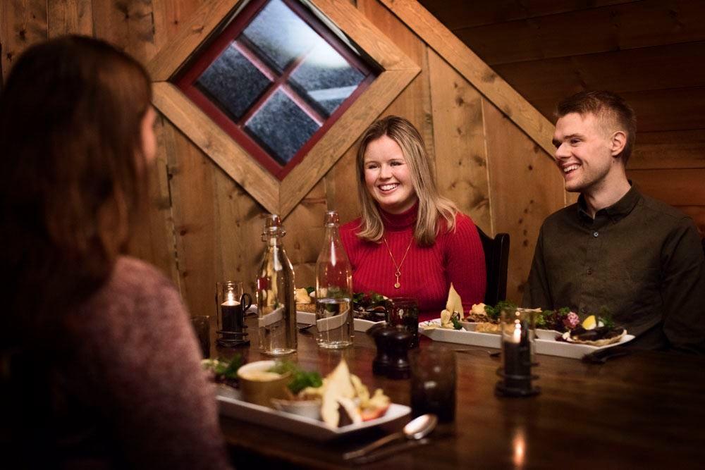 © Thea Hermansen,  Winter FjordSafari & Ægir Viking Dinner