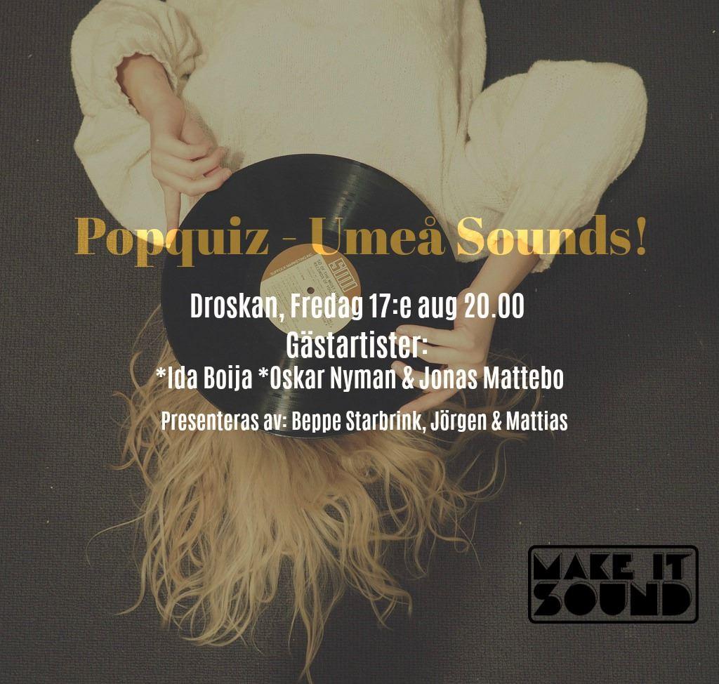 Popquiz - Umeå Sounds!