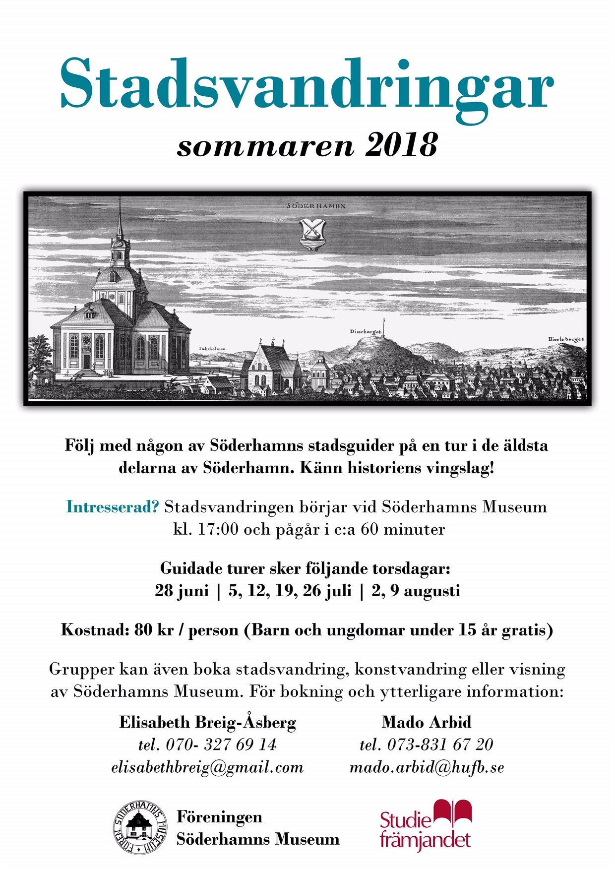 Stadsvandringar i Söderhamn