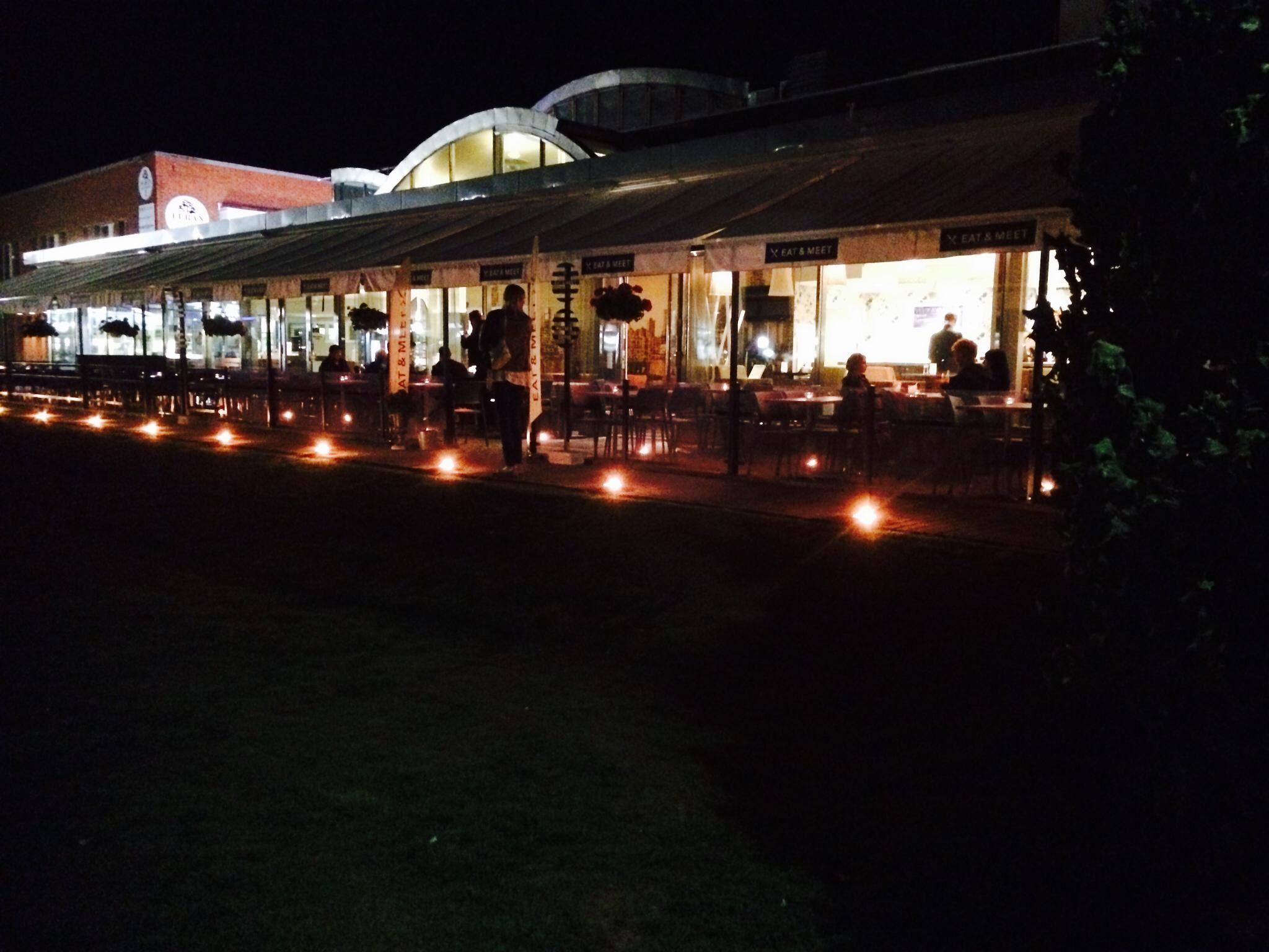 Restaurang uteservering i Söderhamn