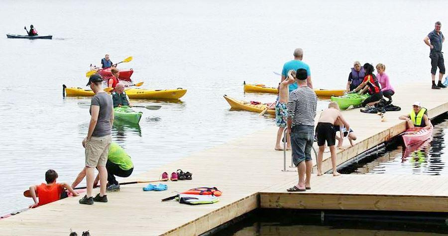 Prova-på-paddling