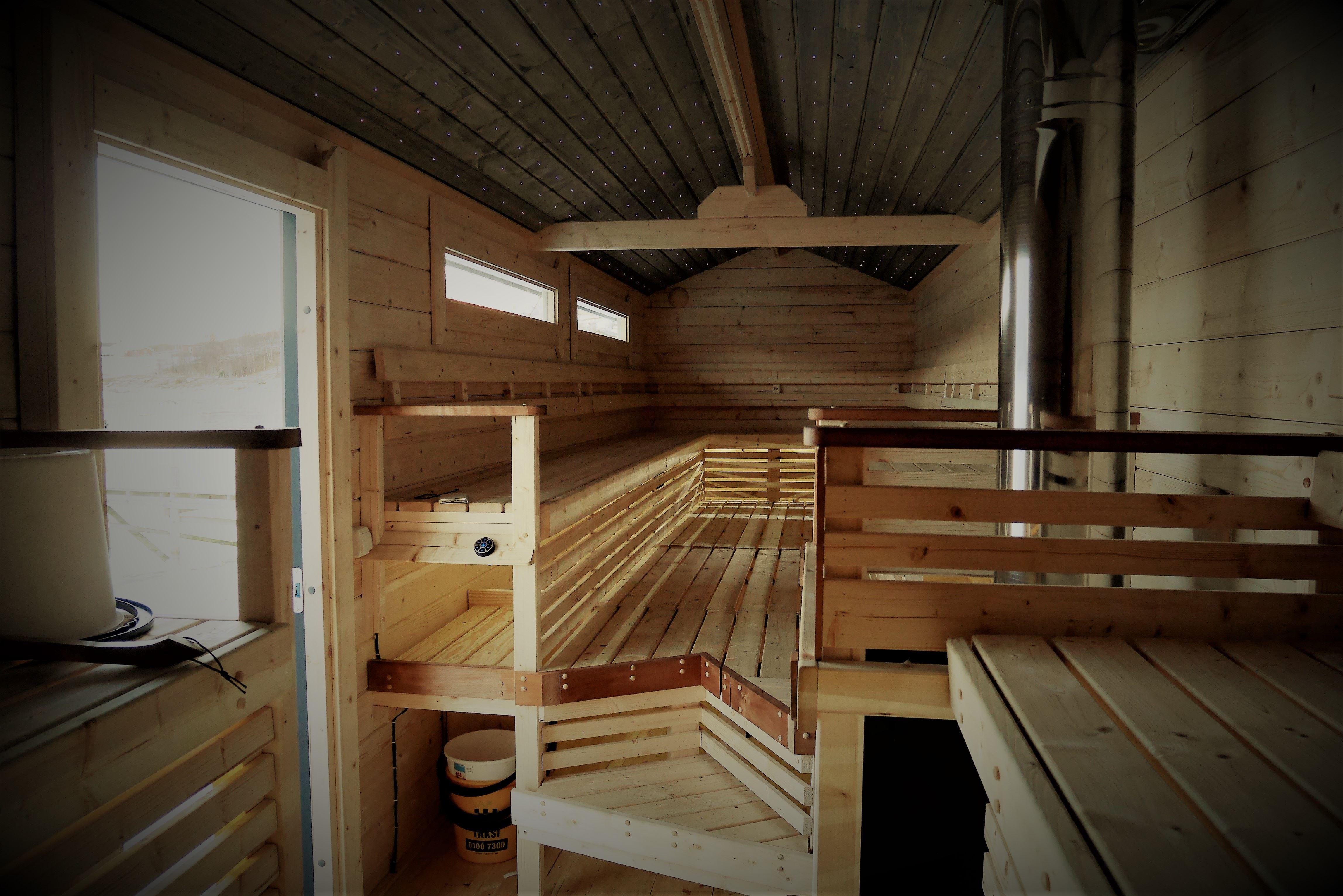 Arktisk svømming og sauna - Lyngen Tourist