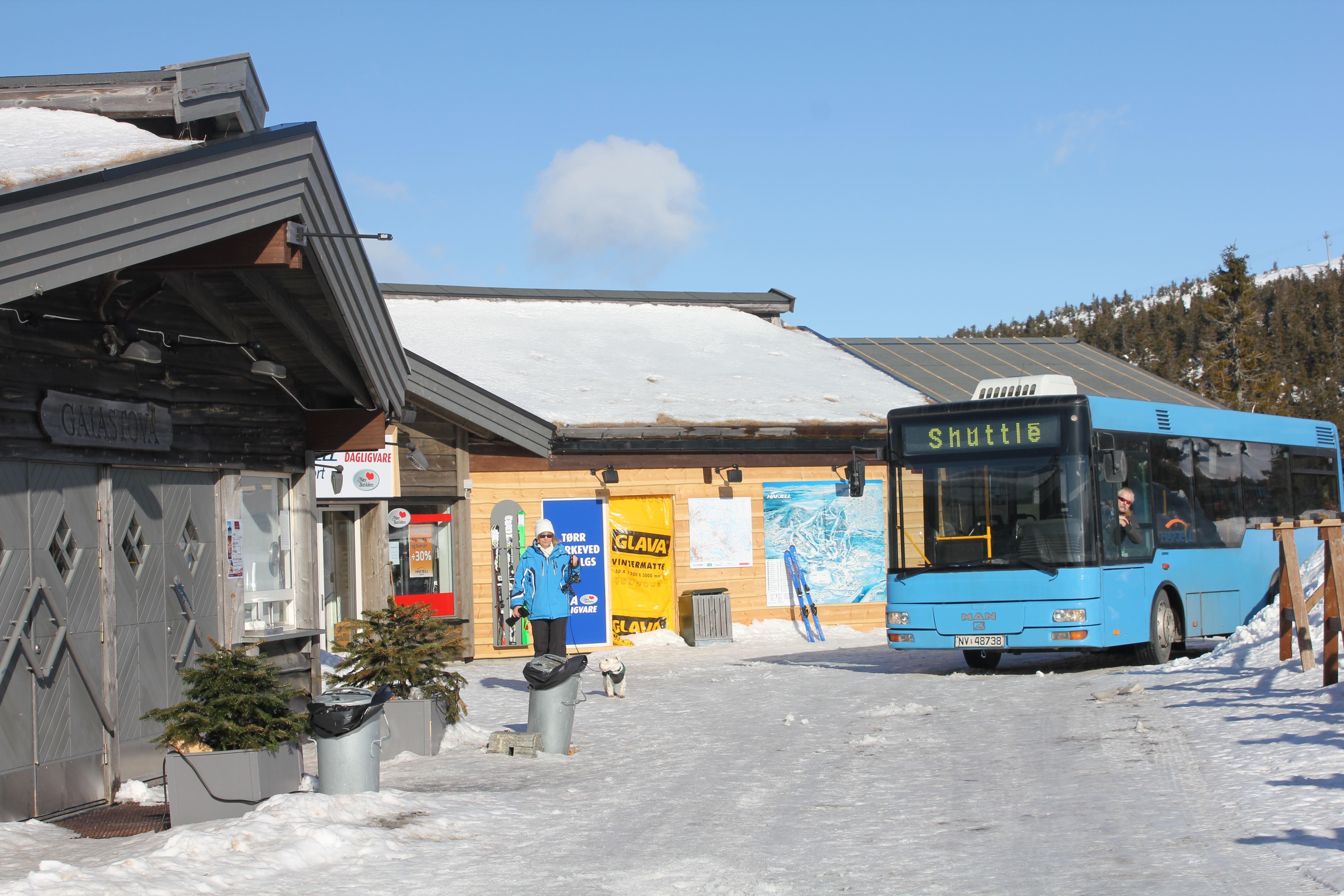 Buss afterski Gaiastova og Hafjell Lodge