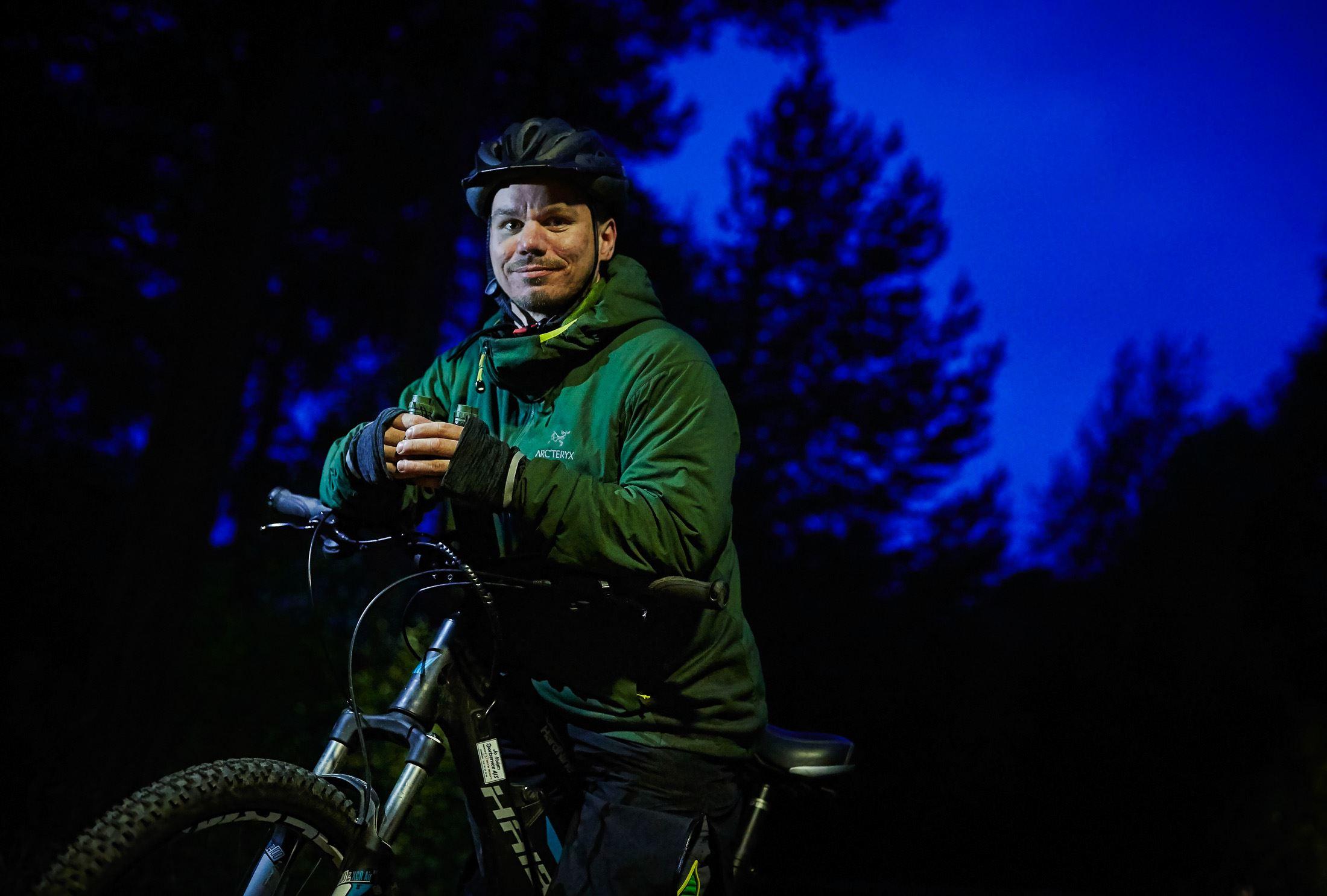 El(g) -sykkel safari på Dovrefjell