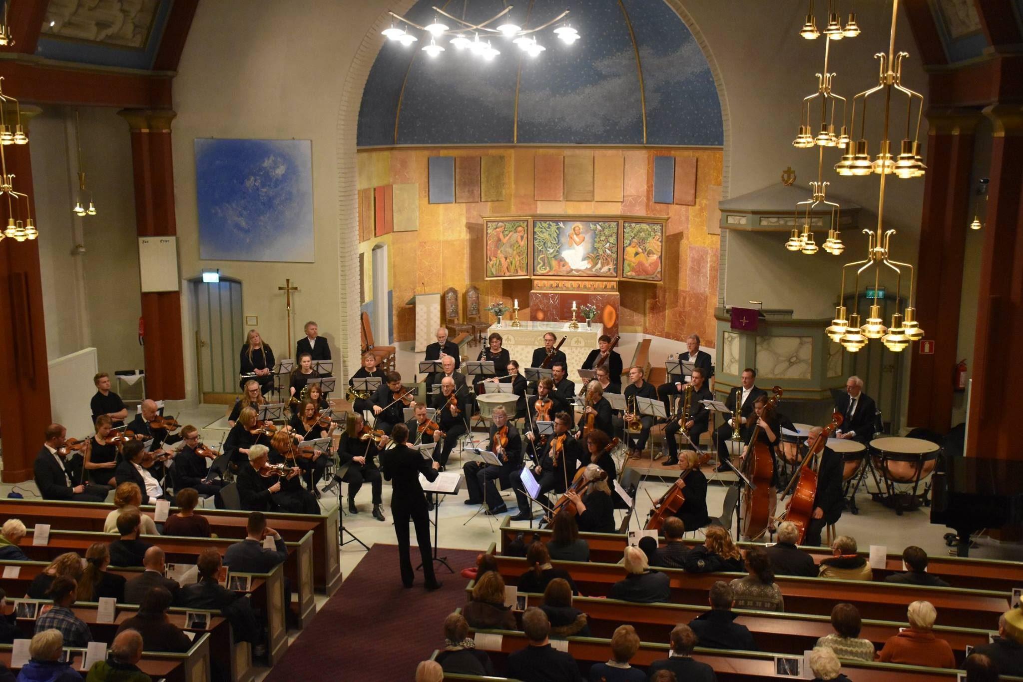 Bachs juleoratoriet i Lillehammer kirke