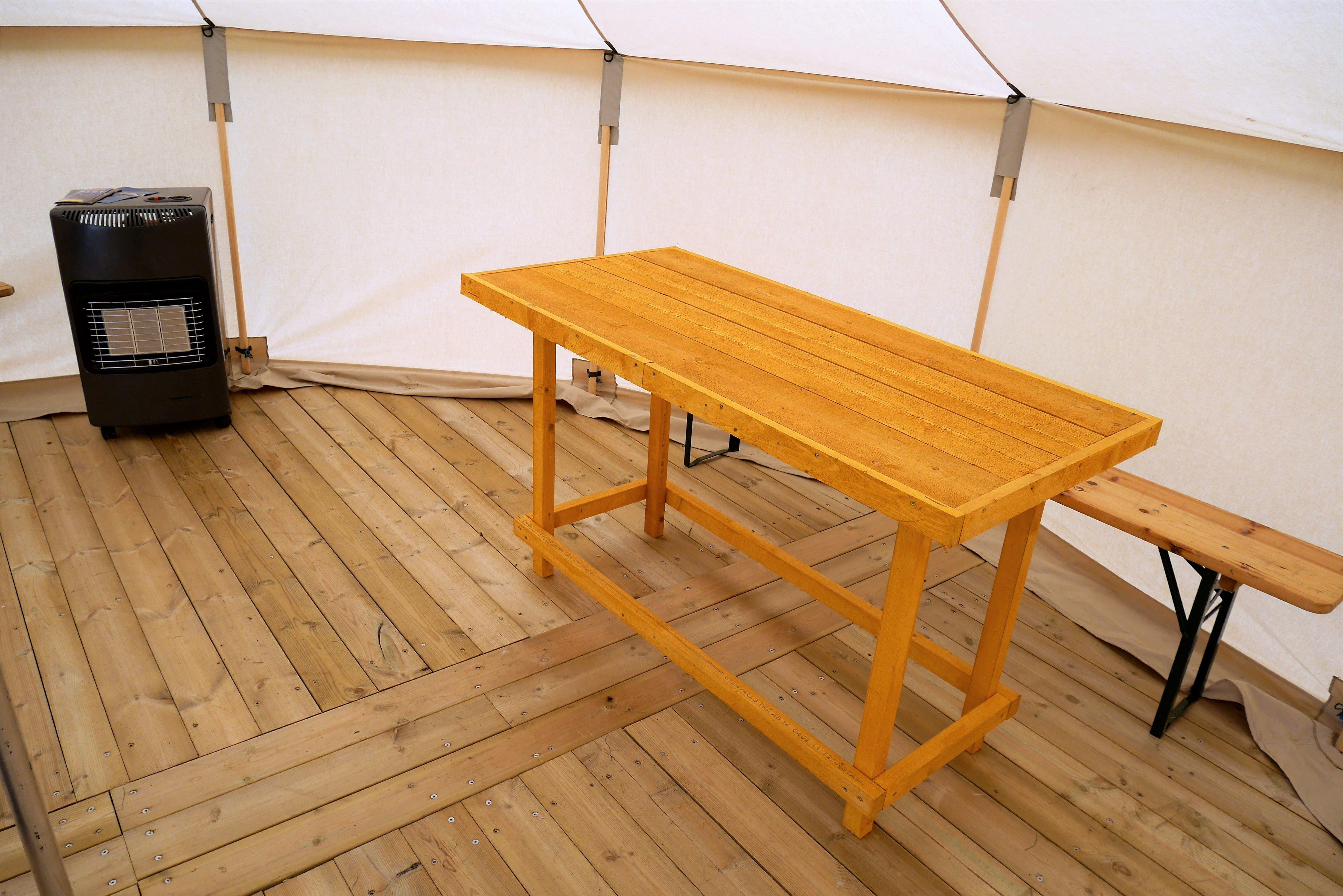 Romslige og komfortable telt til 5 personer - LyngenTourist