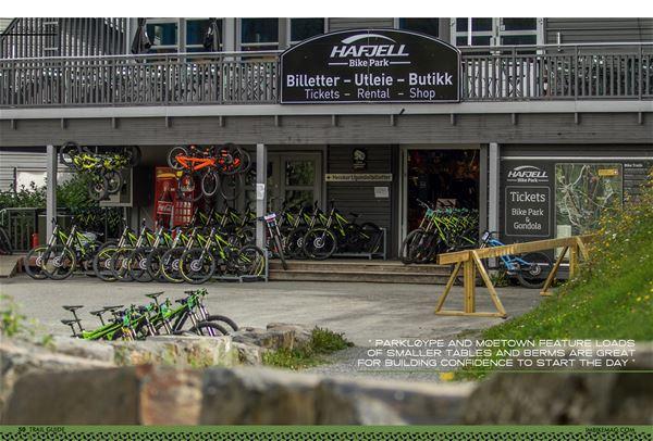 Hafjell Bike Park åpningshelg