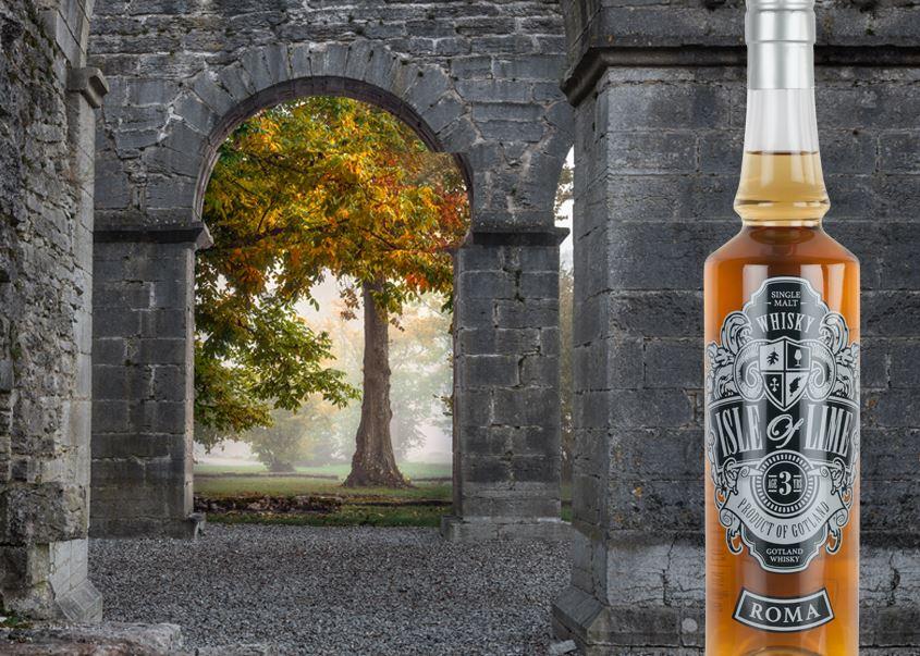 Guidad tur på Gotland Whisky under hösten 2018