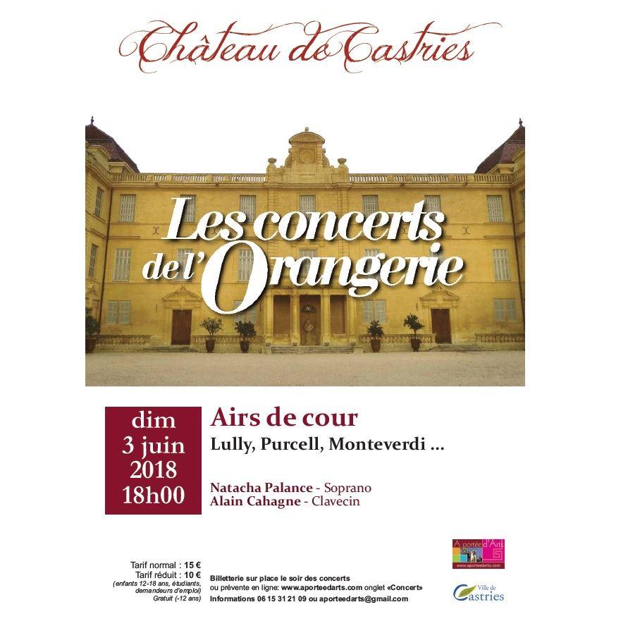 Concert de l'Orangerie / Airs de cour...