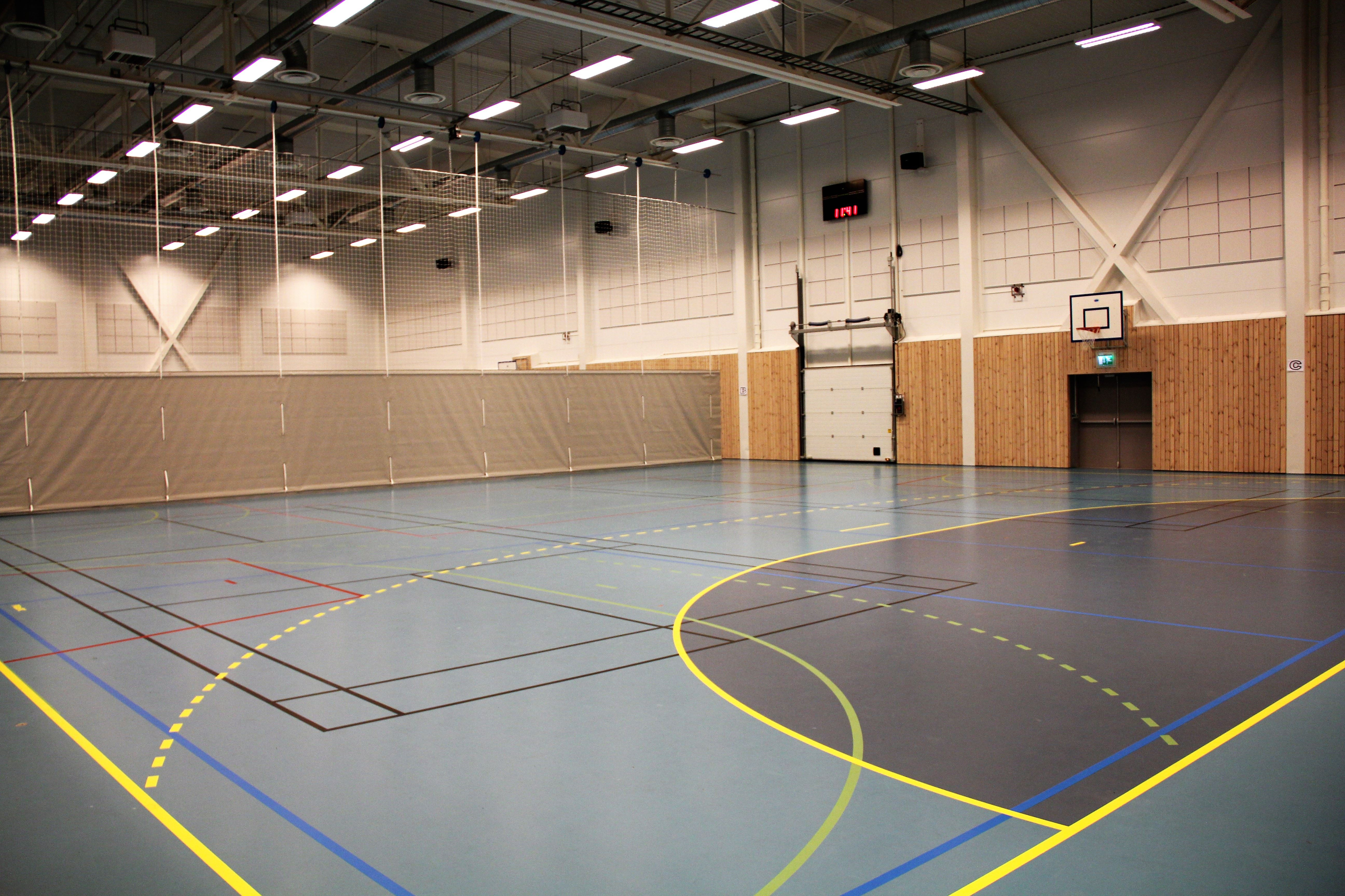 Treningsrom Øyerhallen i Hafjell