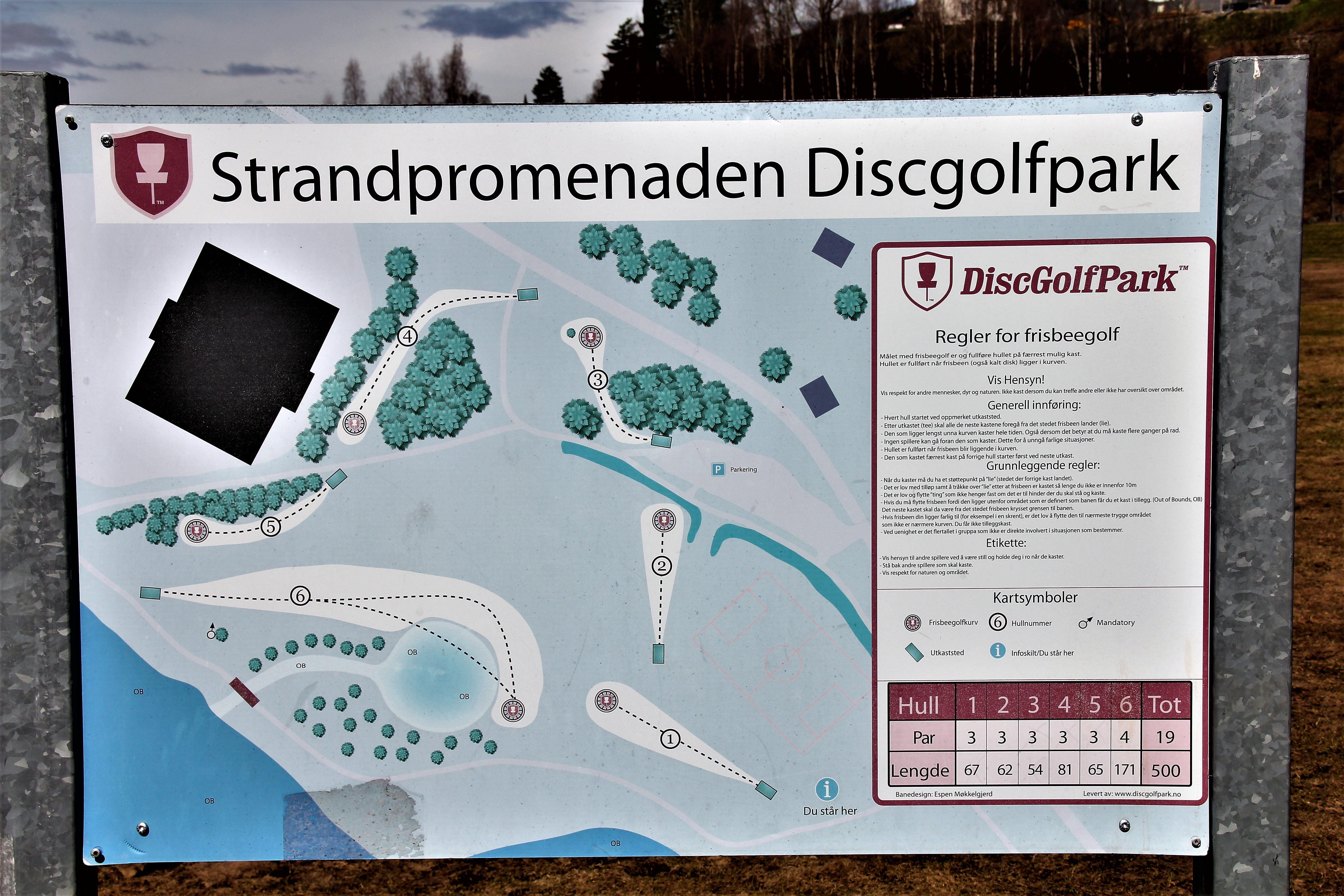 Strandpromenaden Lillehammer