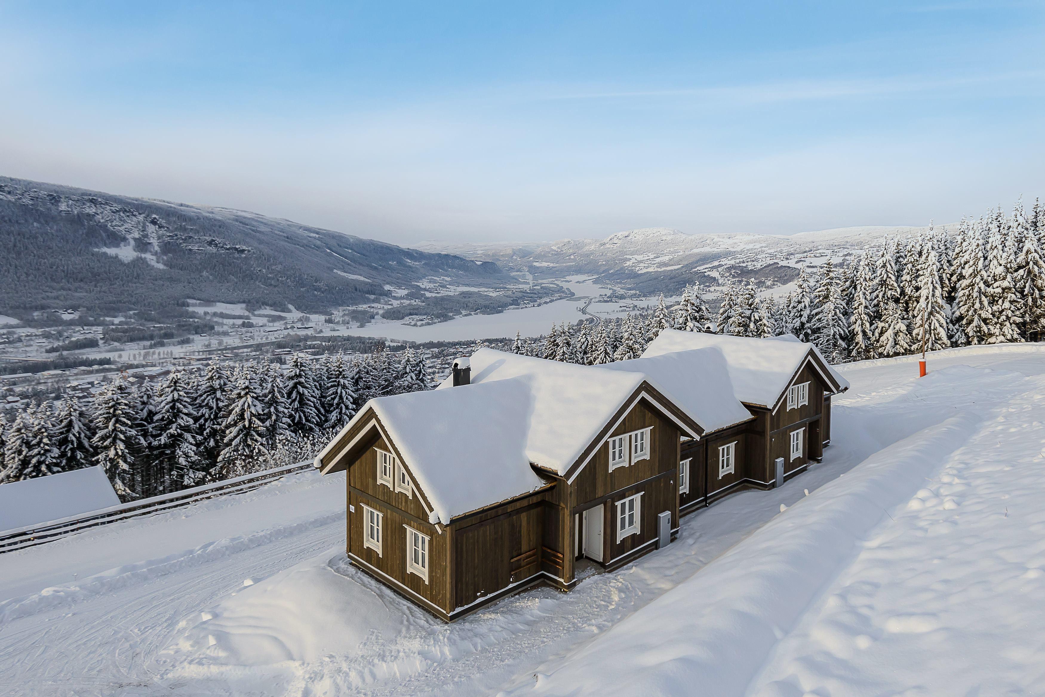 Skiferie på Hafjell i Norge