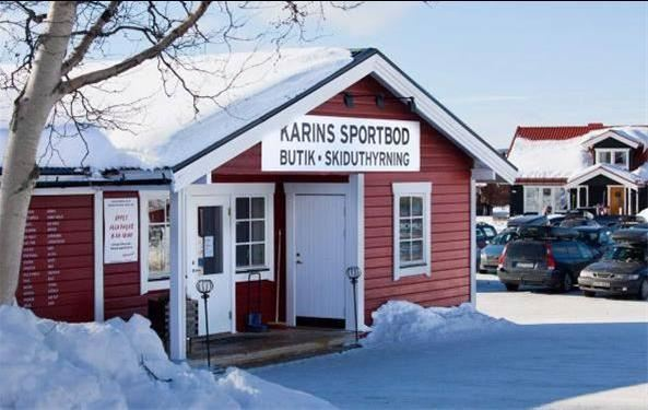 Bild på Karinssportbod i Lofsdalen