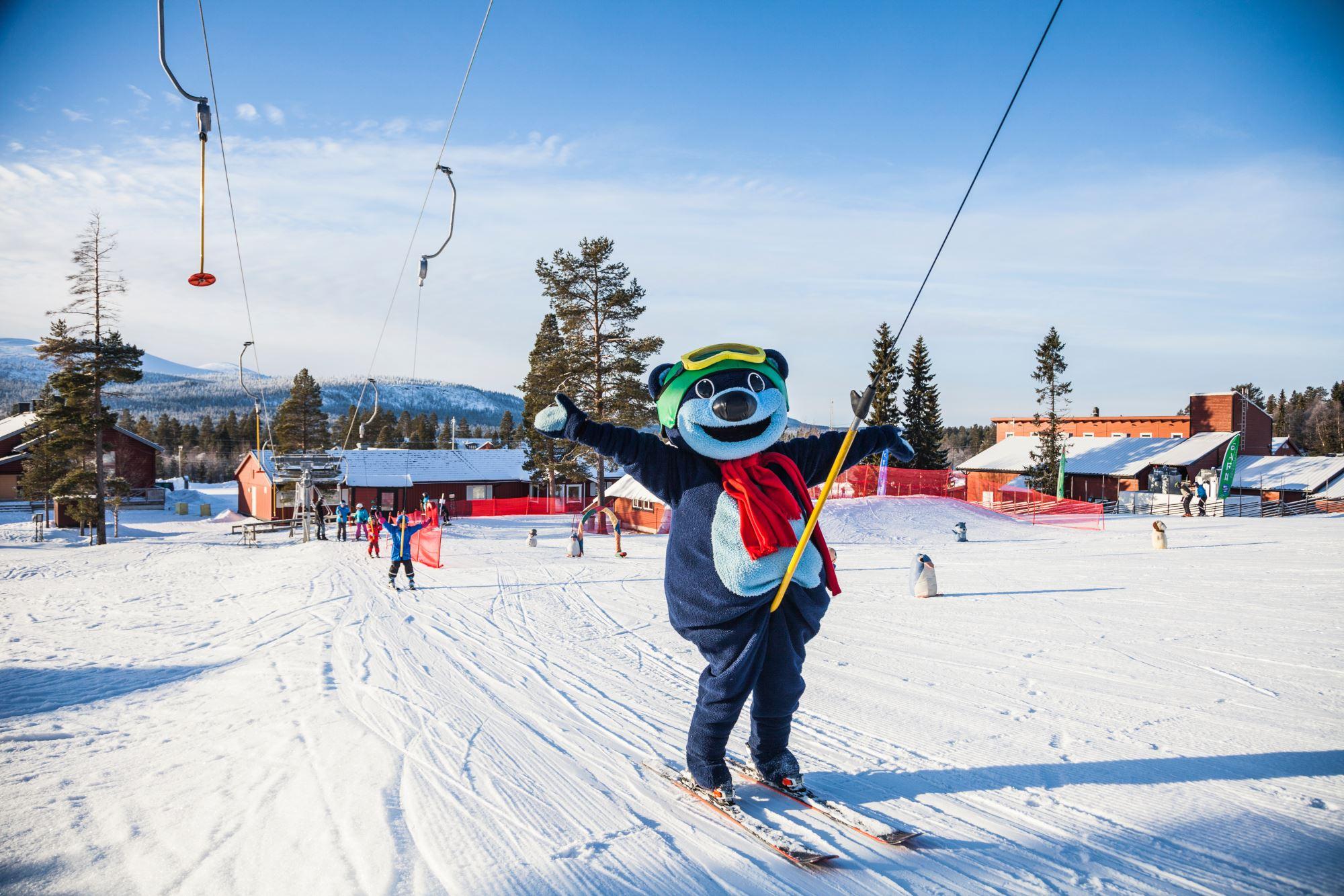 Bild på Snölandet i Lofsdalen