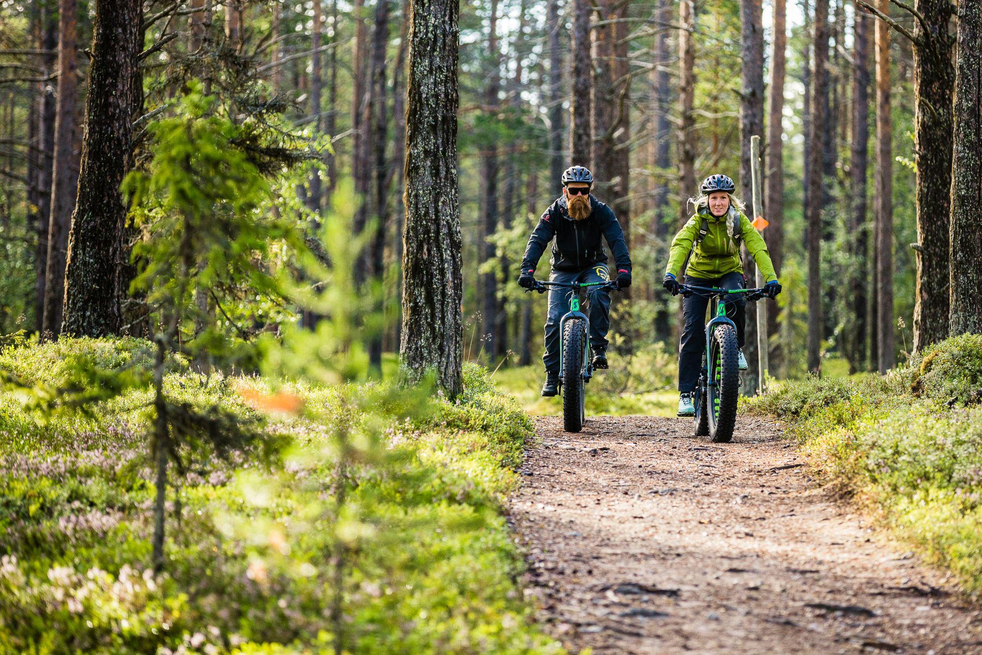 Martin Olson, Cyklistar på fatbikes