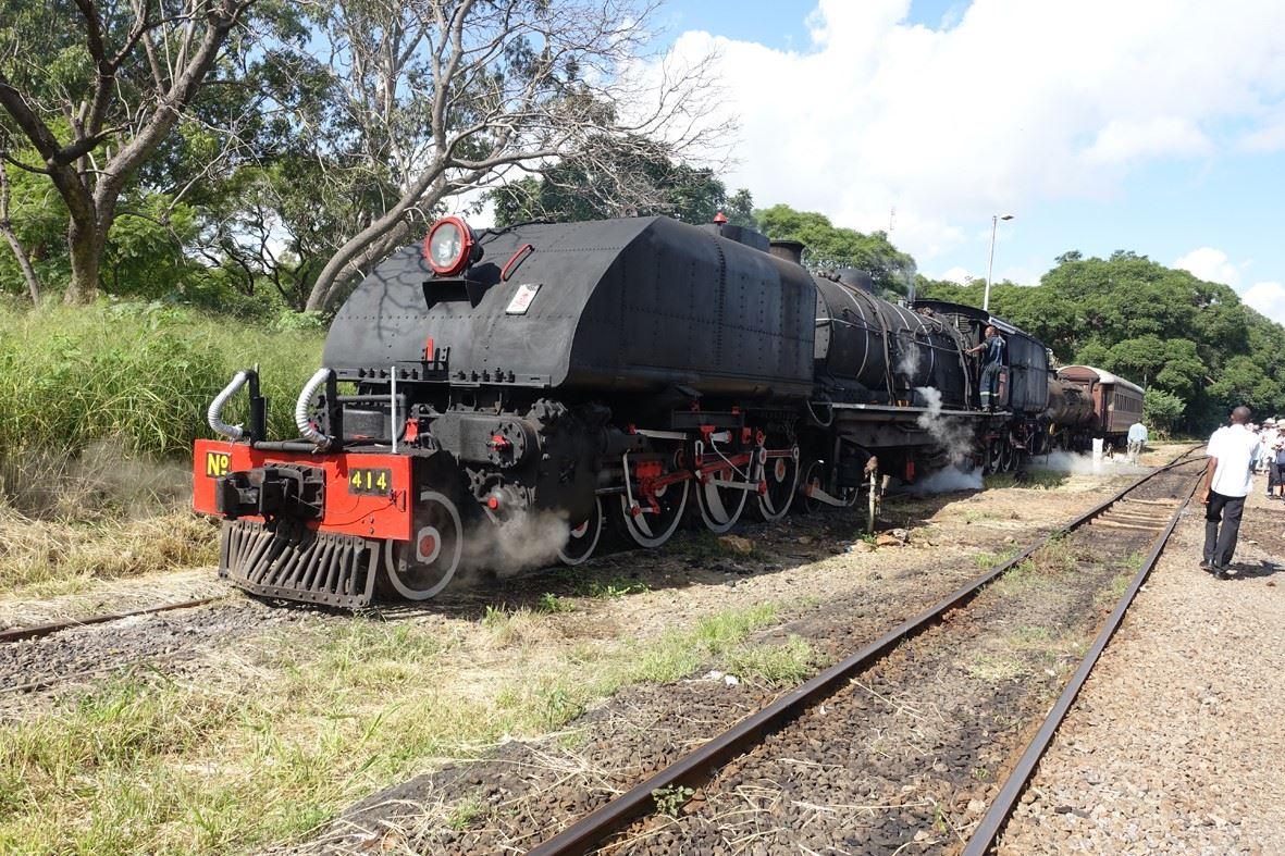Olle Ek,  © Järnvägsmuseet, Ångtåg på National Railways of Zimbabwe