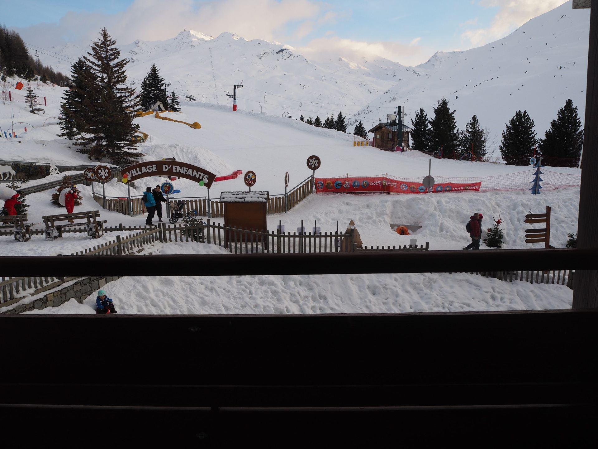 Studio 3 Pers skis aux pieds / LES CHARMETTES 213