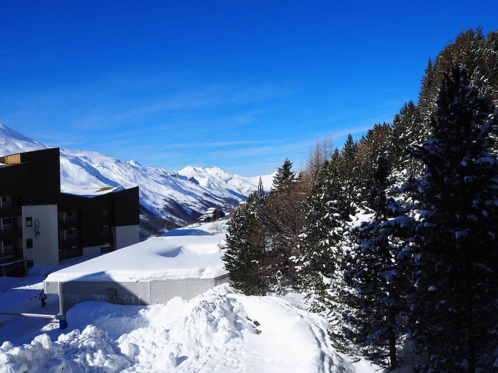Studio 4 Pers skis au pieds / Gentianes 205