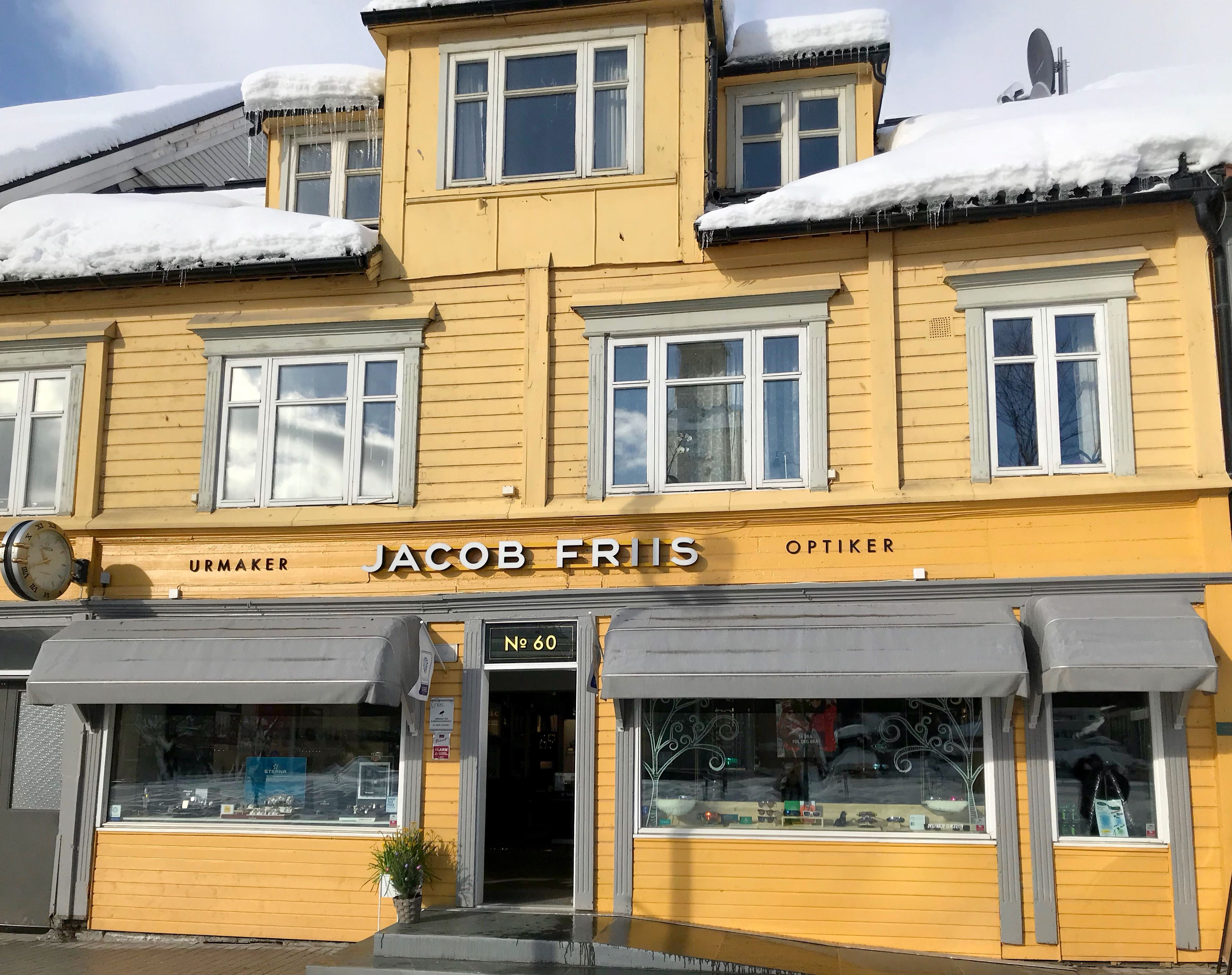© Jacob Friis urmaker og optiker, Jakob Friis urmaker og optiker