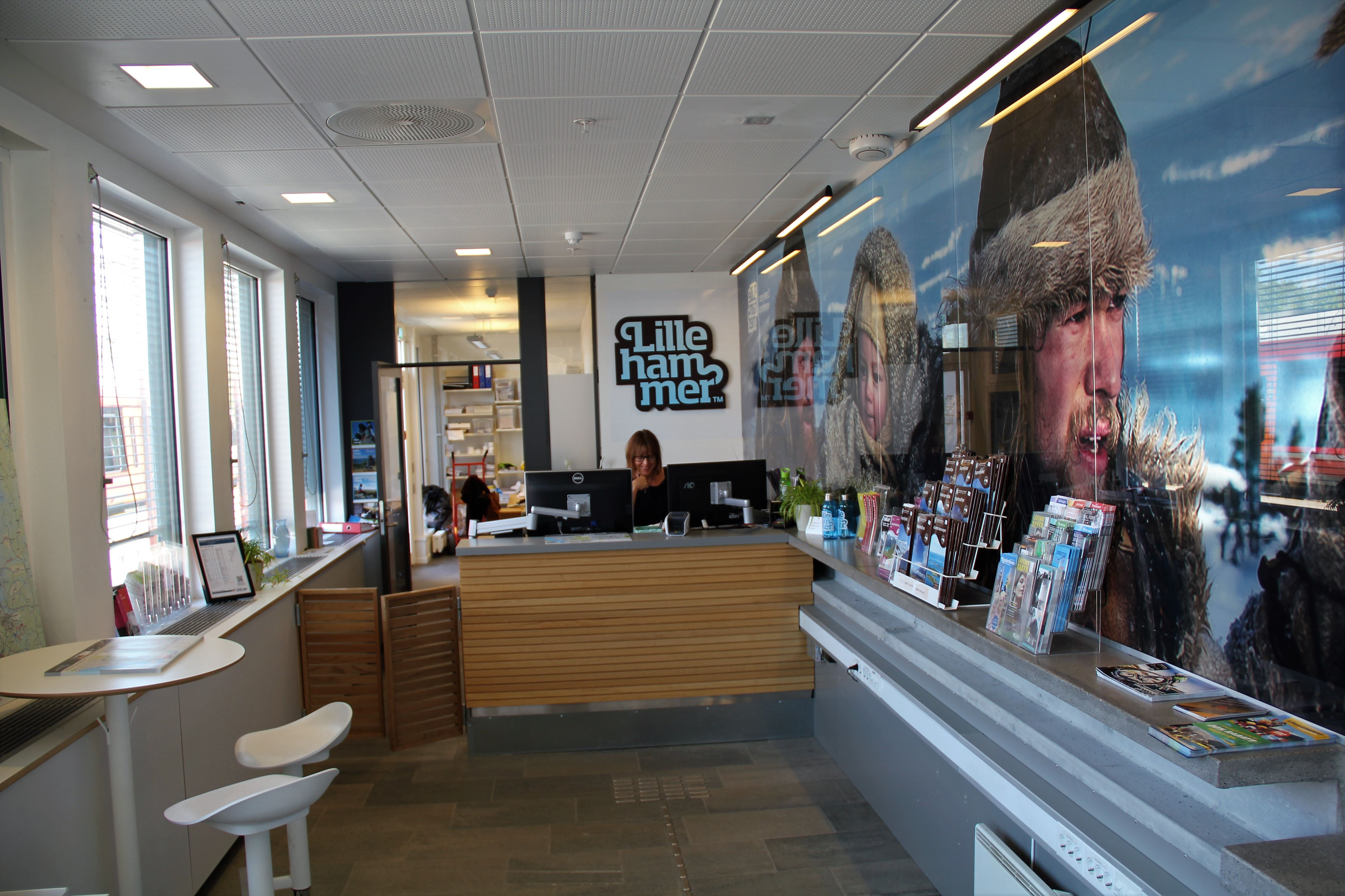 Information centre for visitors in Lillehammer region