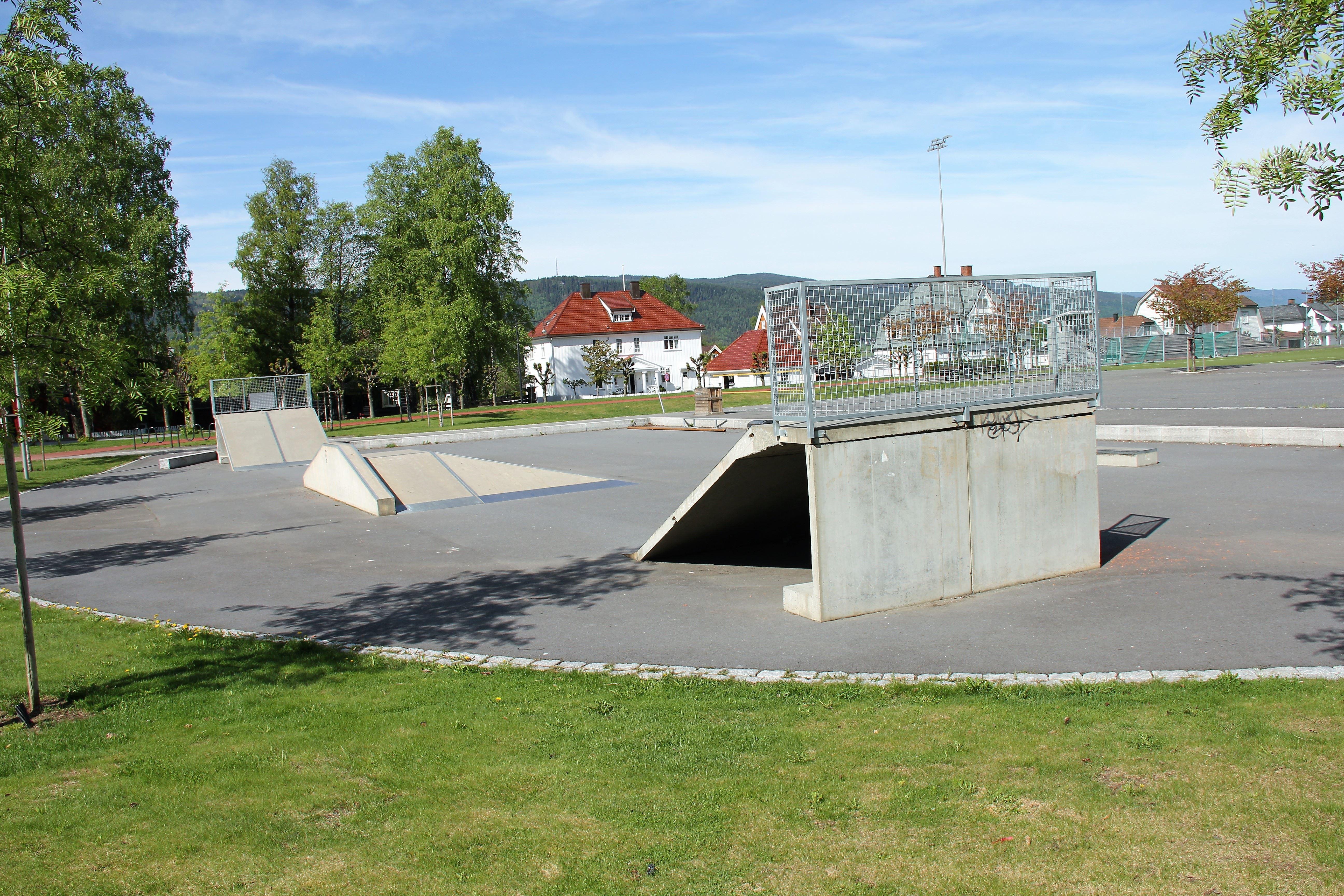 Sportsplassen på Lillehammer