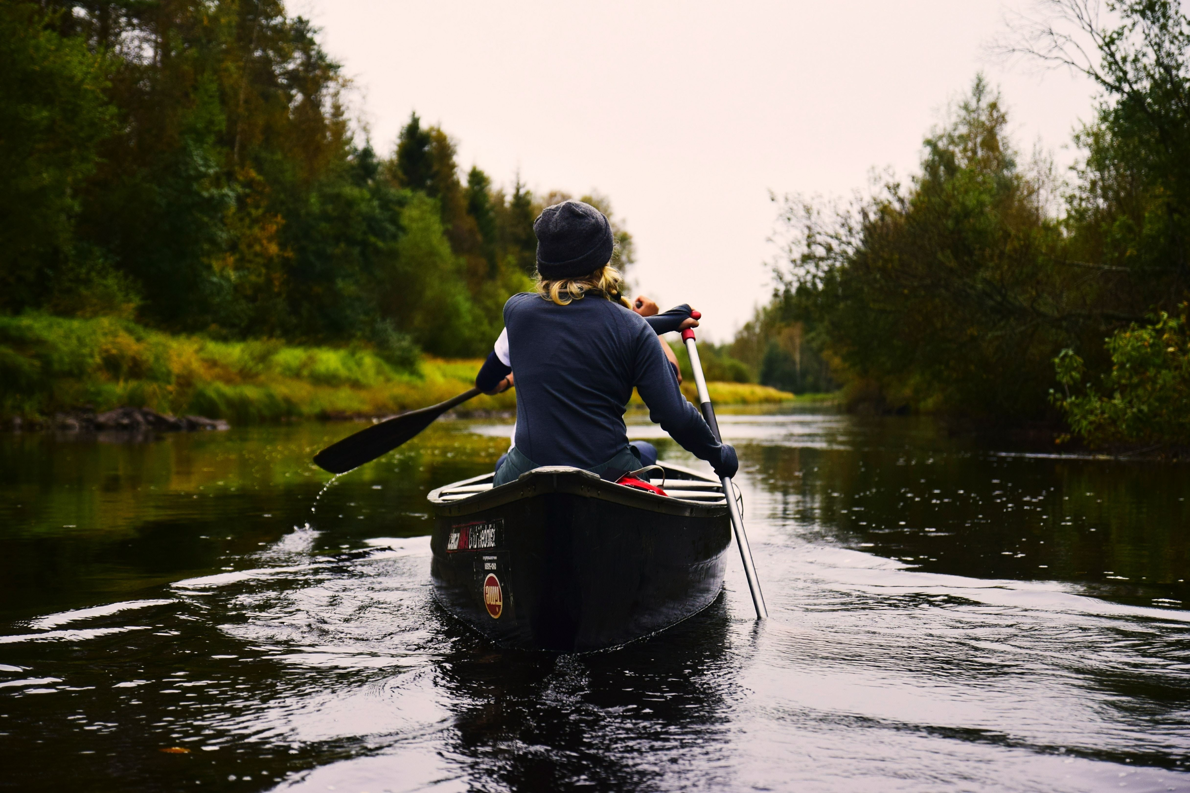 Canoeing/kayaking in the sea - Holmsund