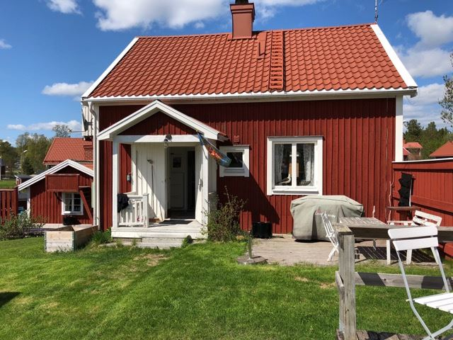 Stuga - mitt i fiskeläget Mellanfjärden, Jättendal