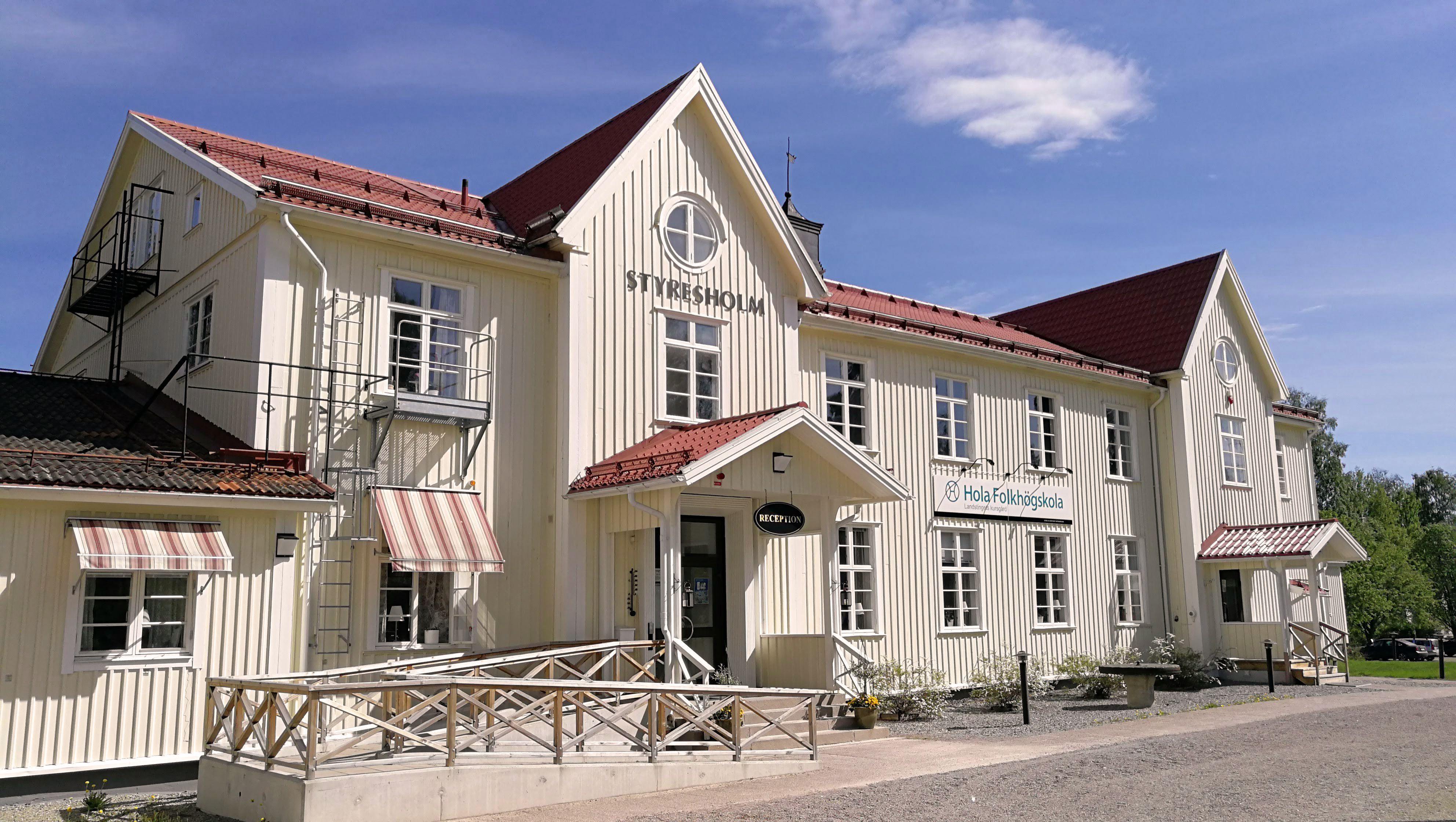 Hans Bergström, Hola Folkhögskola