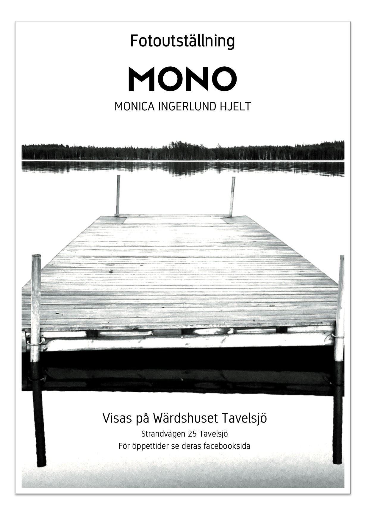 Fotoutställning på Wärdshuset Tavelsjö