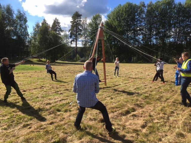 Teambuildning med Tallbacken Event