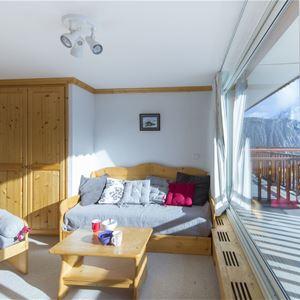 2 rooms cabin 4 people/ PRALONG 203 (Mountain)