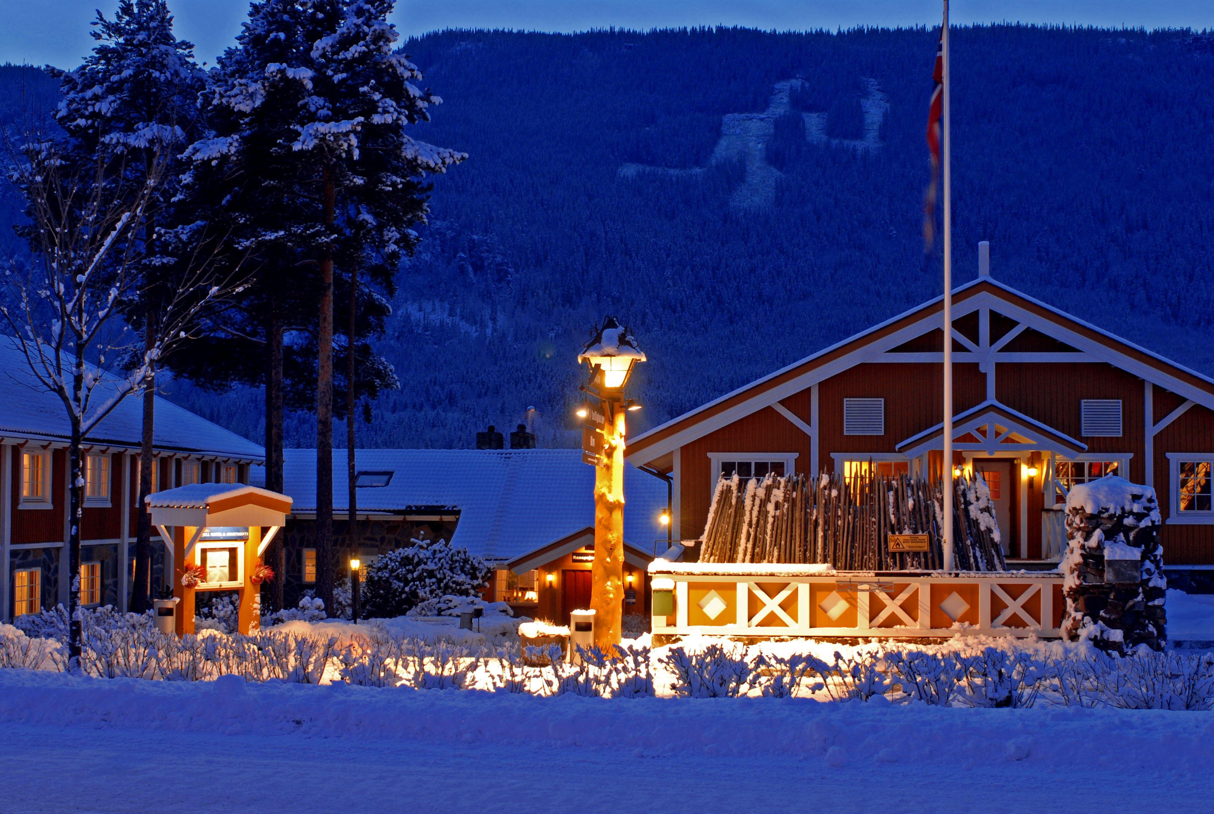 Esben Haakenstad, Kveldskjøring i Hafjell Alpinsenter